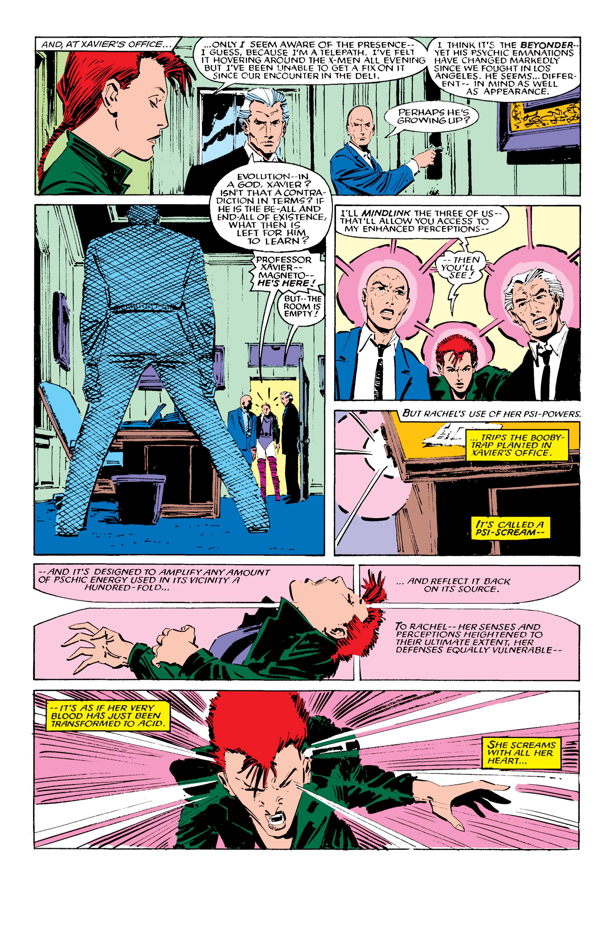 Read online Uncanny X-Men (1963) comic -  Issue #196 - 17
