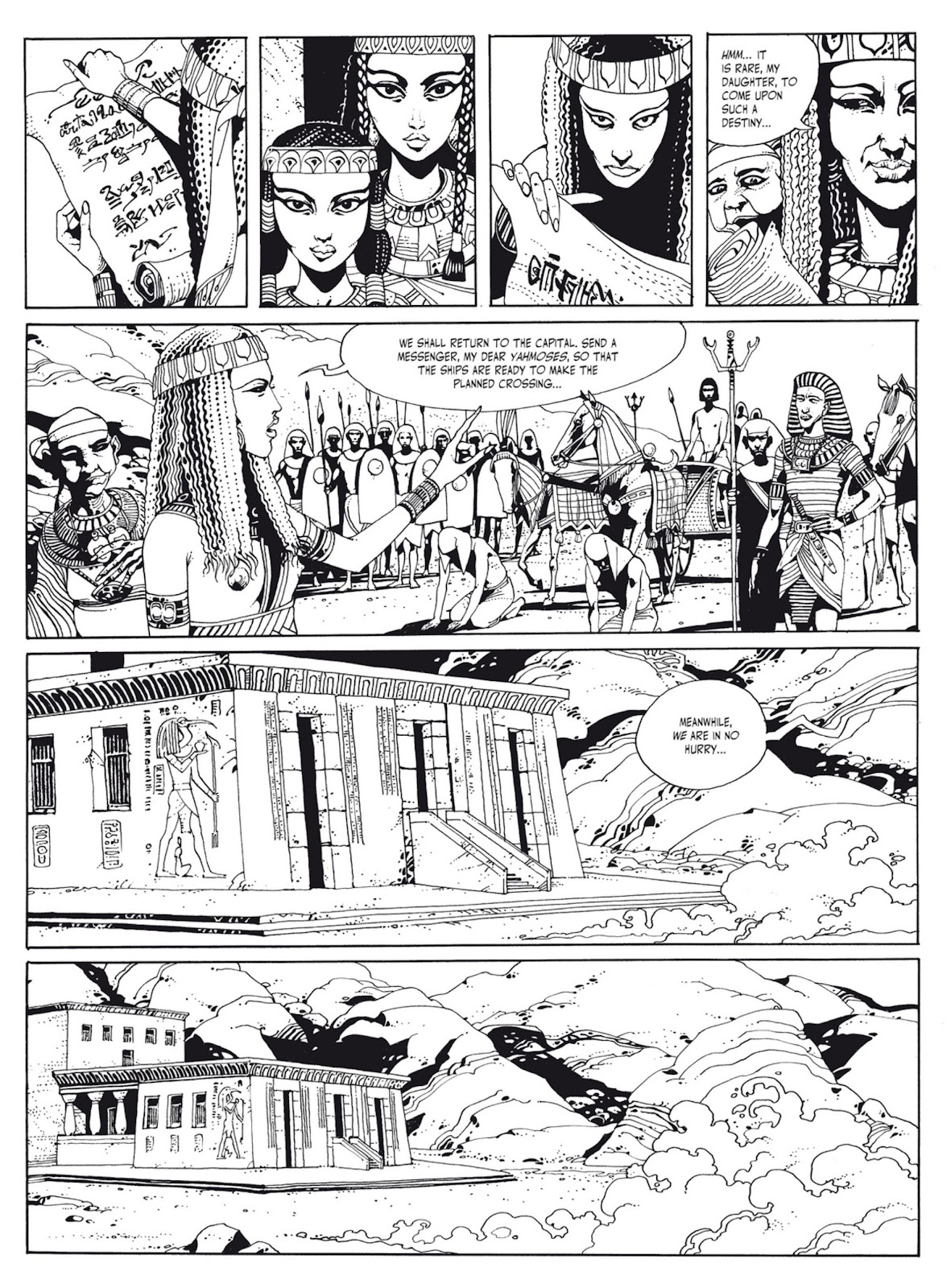 Read online The Egyptian Princesses comic -  Issue # TPB 1 (Part 1) - 8