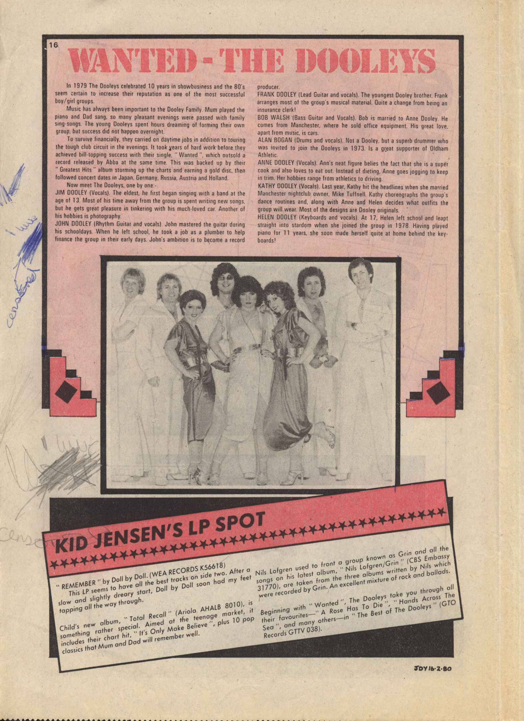 Read online Judy comic -  Issue #1049 - 16