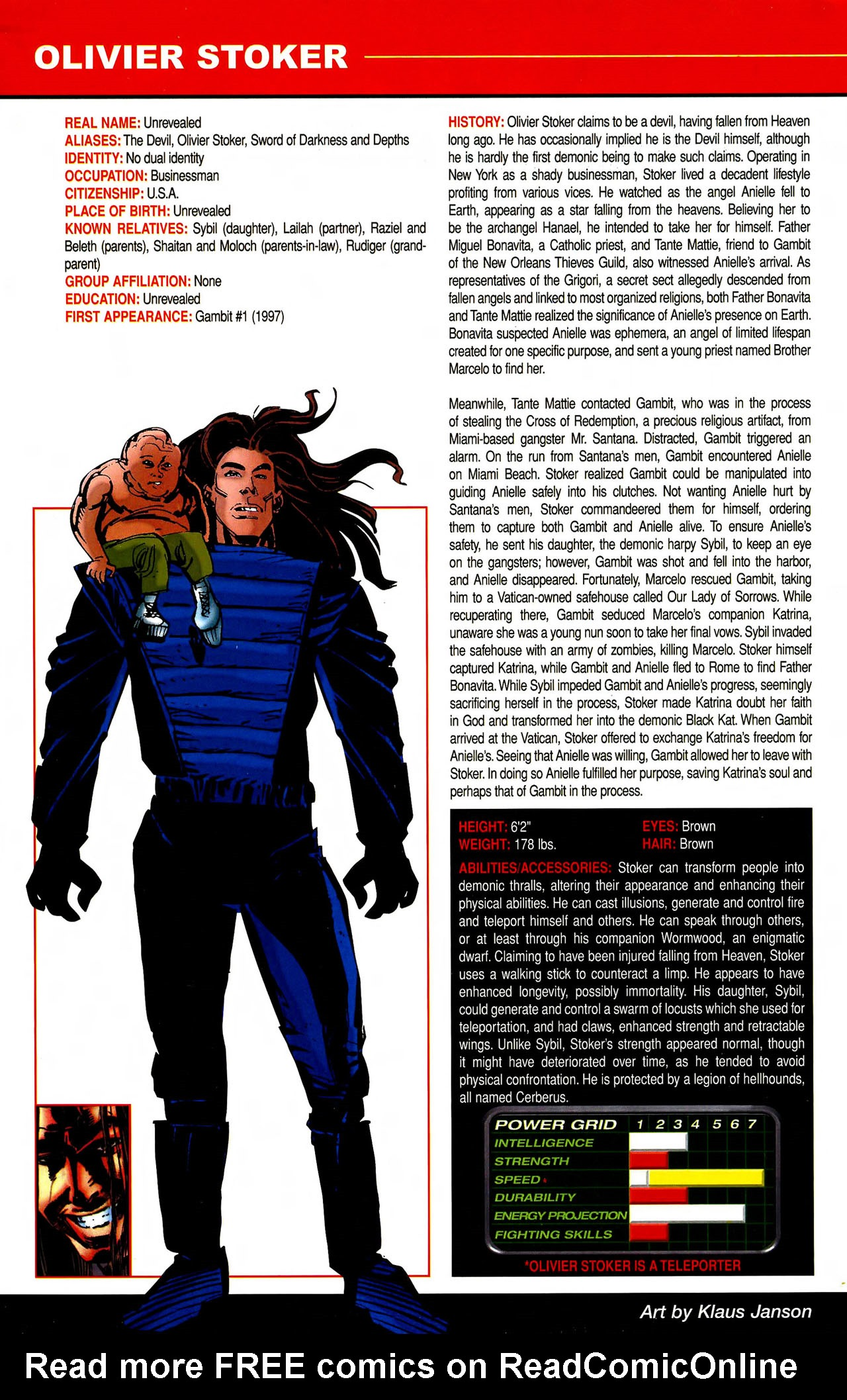 Read online All-New Official Handbook of the Marvel Universe A to Z comic -  Issue #10 - 64