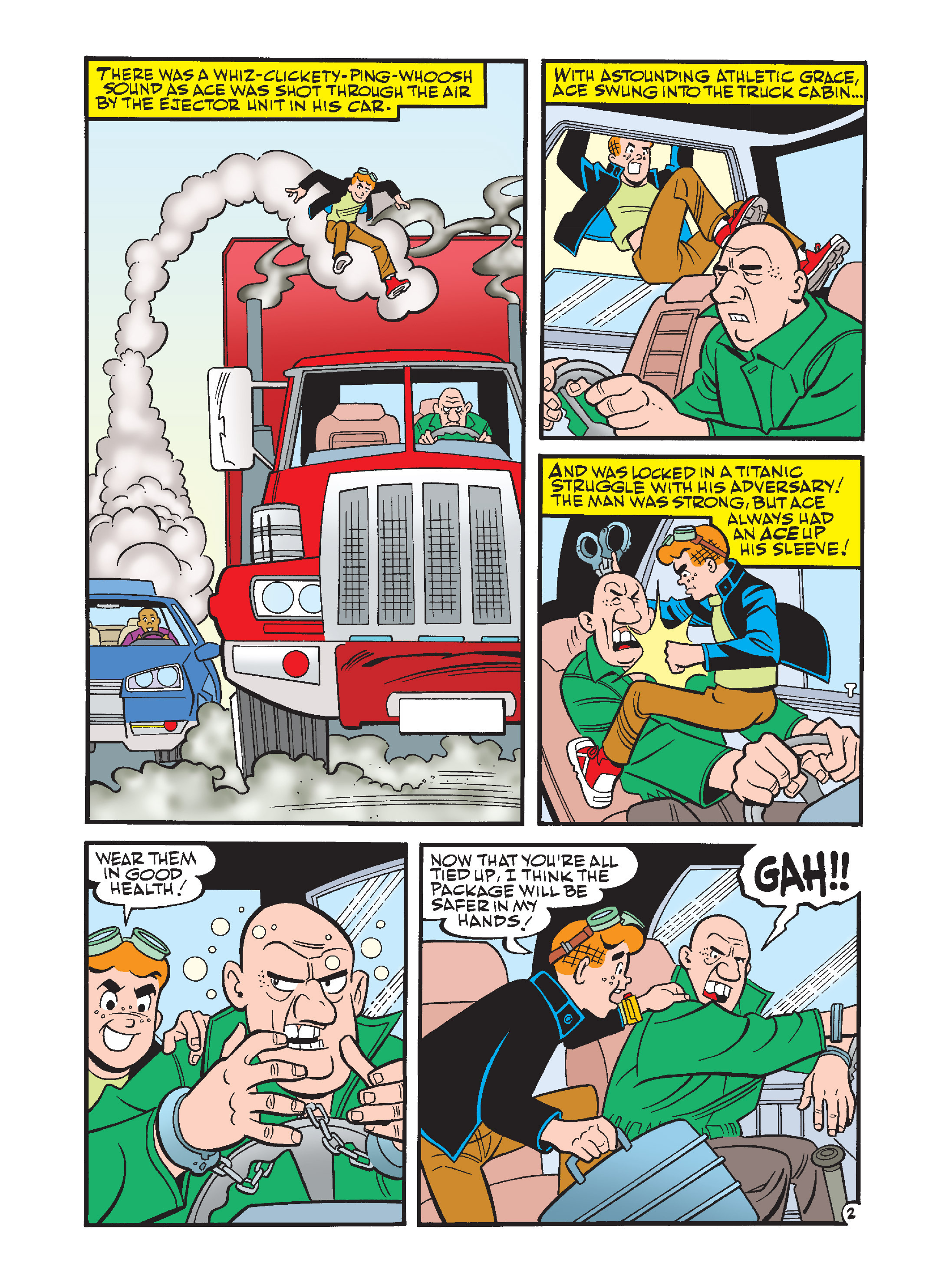Read online Archie's Funhouse Double Digest comic -  Issue #12 - 3