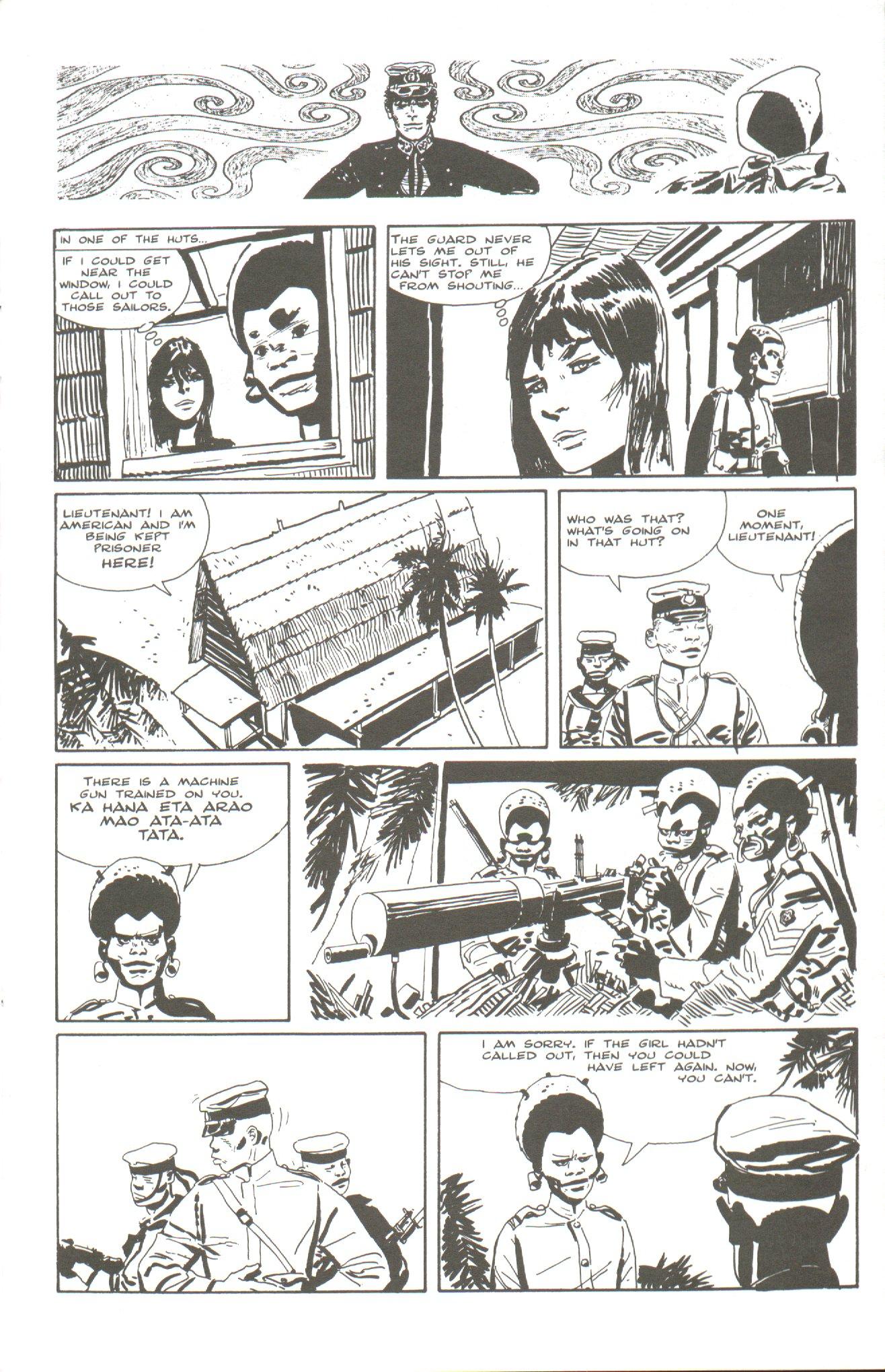 Read online Corto Maltese: Ballad of the Salt Sea comic -  Issue #5 - 7