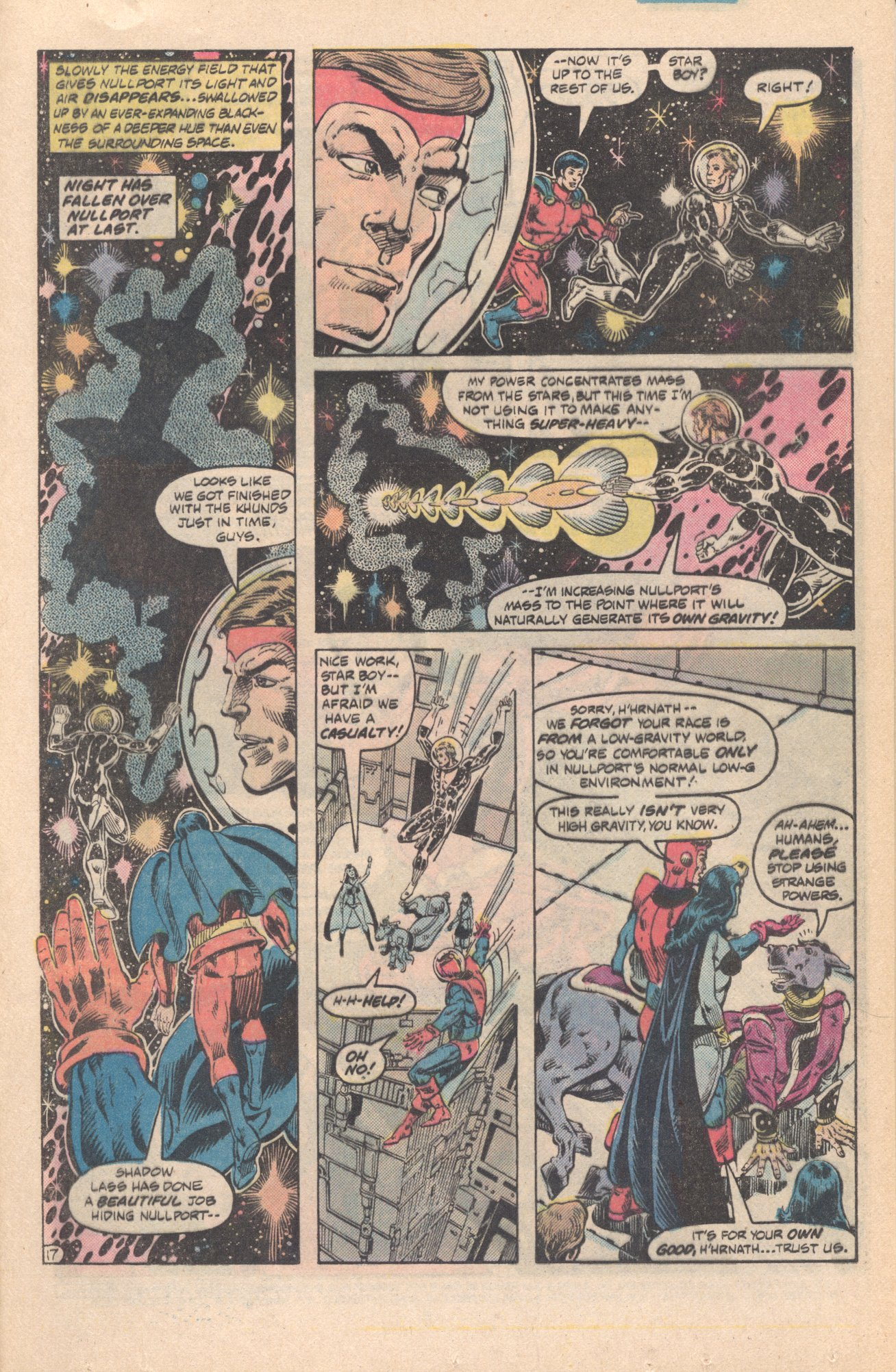 Legion of Super-Heroes (1980) 285 Page 17