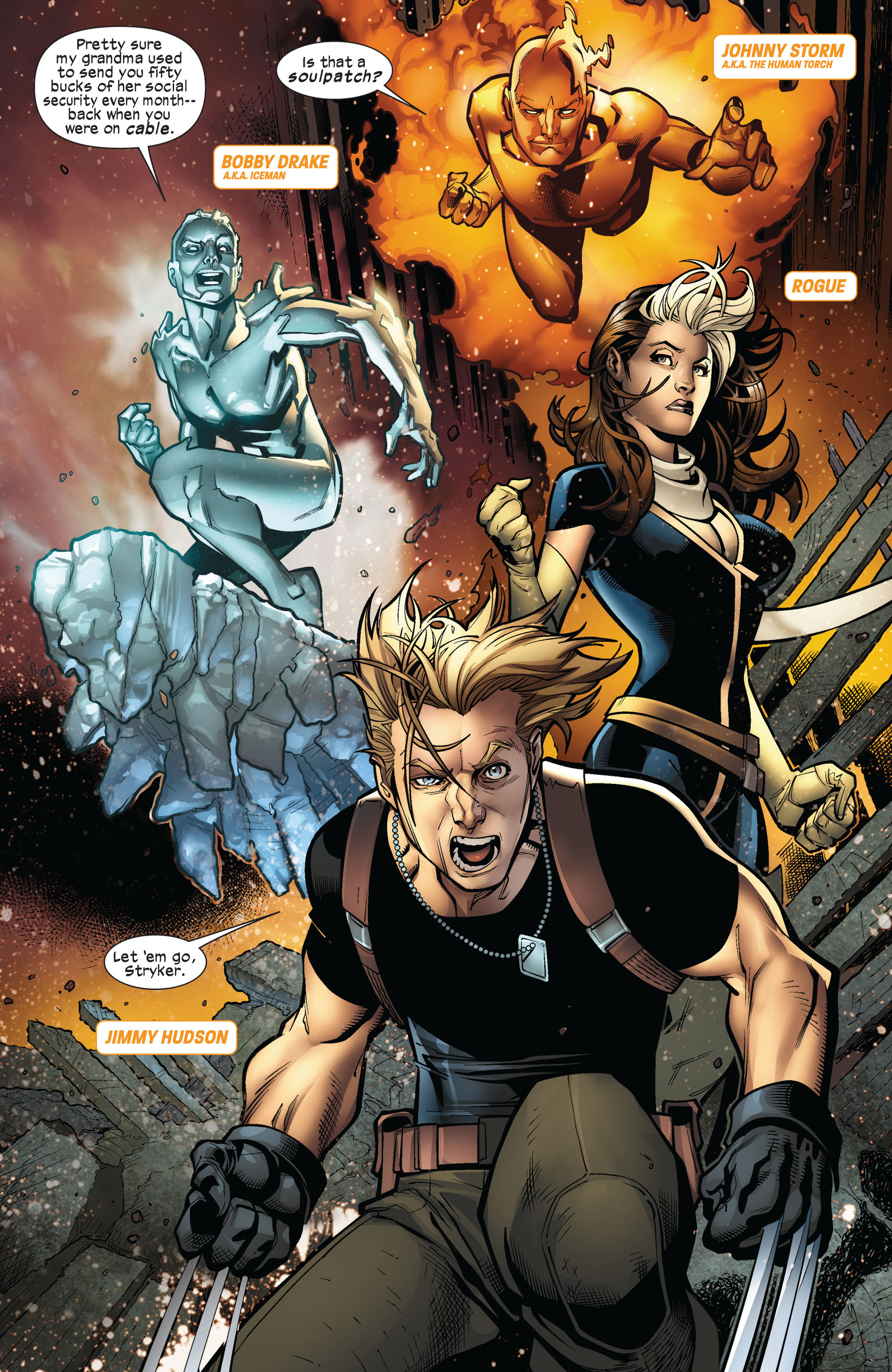 Read online Ultimate Comics X-Men comic -  Issue #5 - 12