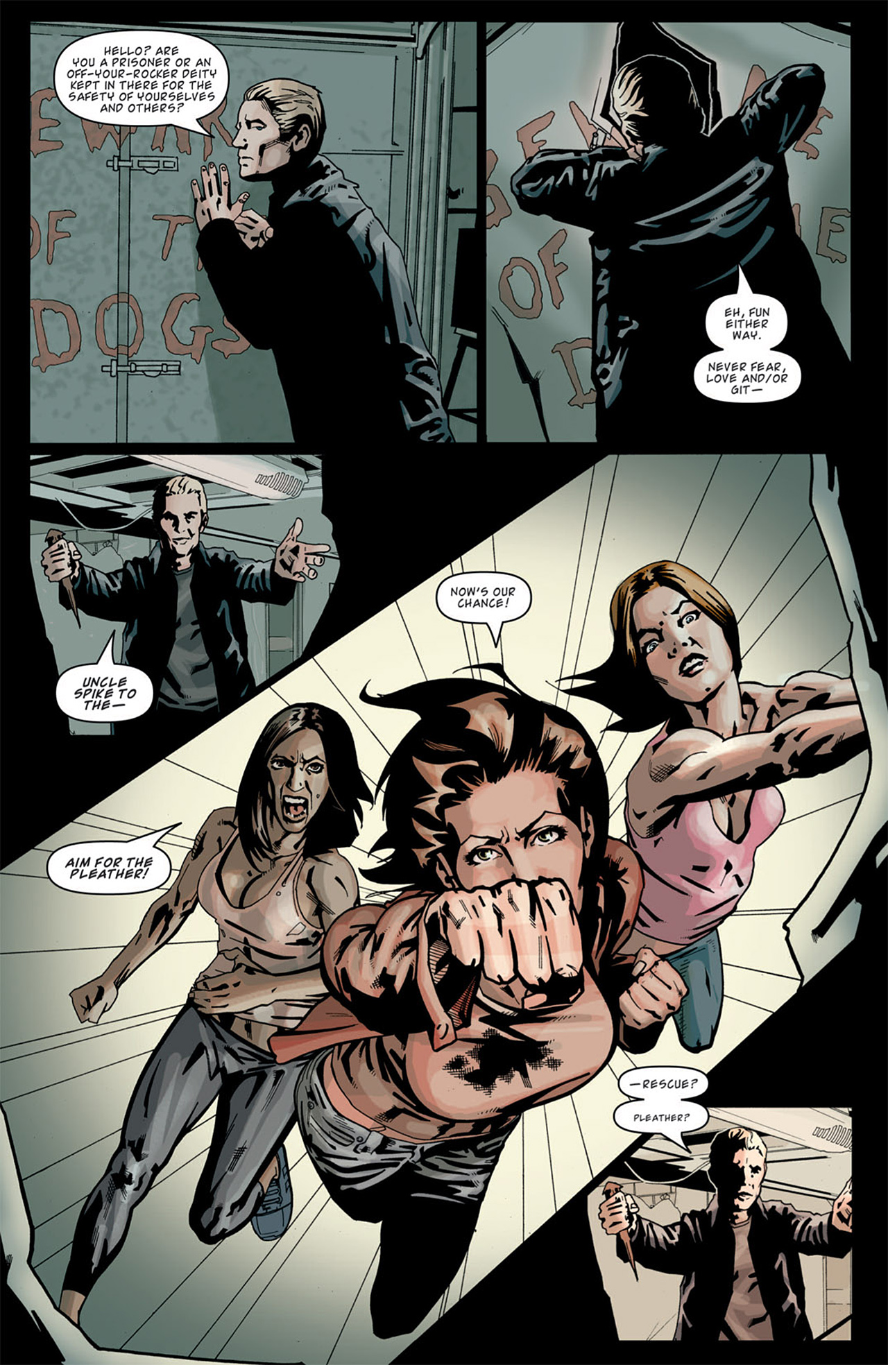 Read online Angel: After The Fall comic -  Issue #13 - 7