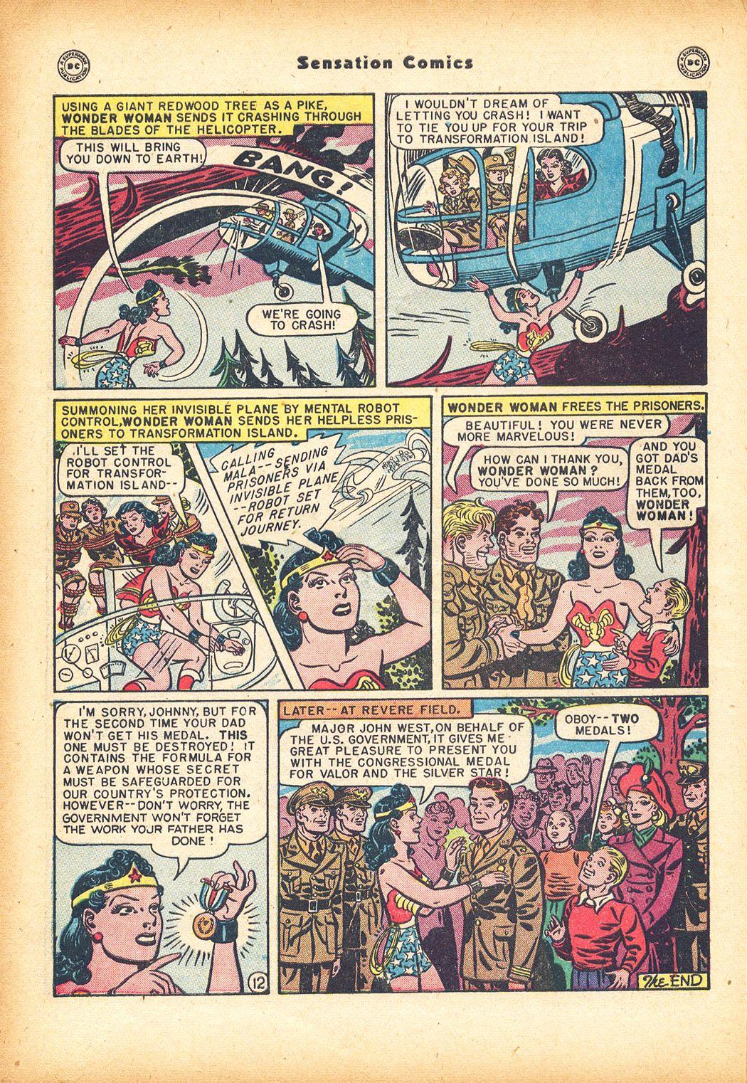 Read online Sensation (Mystery) Comics comic -  Issue #78 - 14