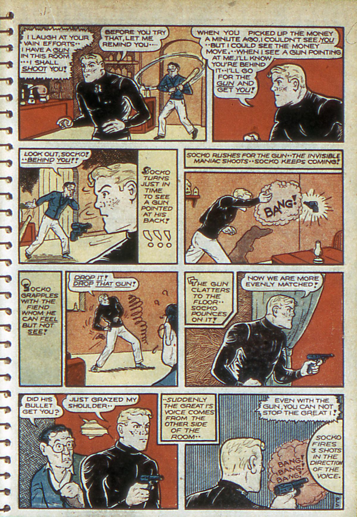 Read online Adventure Comics (1938) comic -  Issue #52 - 51