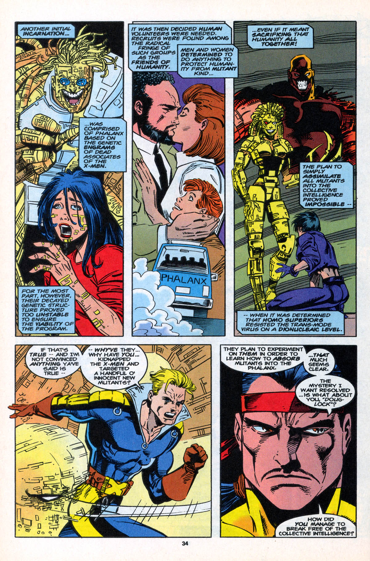 Read online X-Factor (1986) comic -  Issue #106 - 34