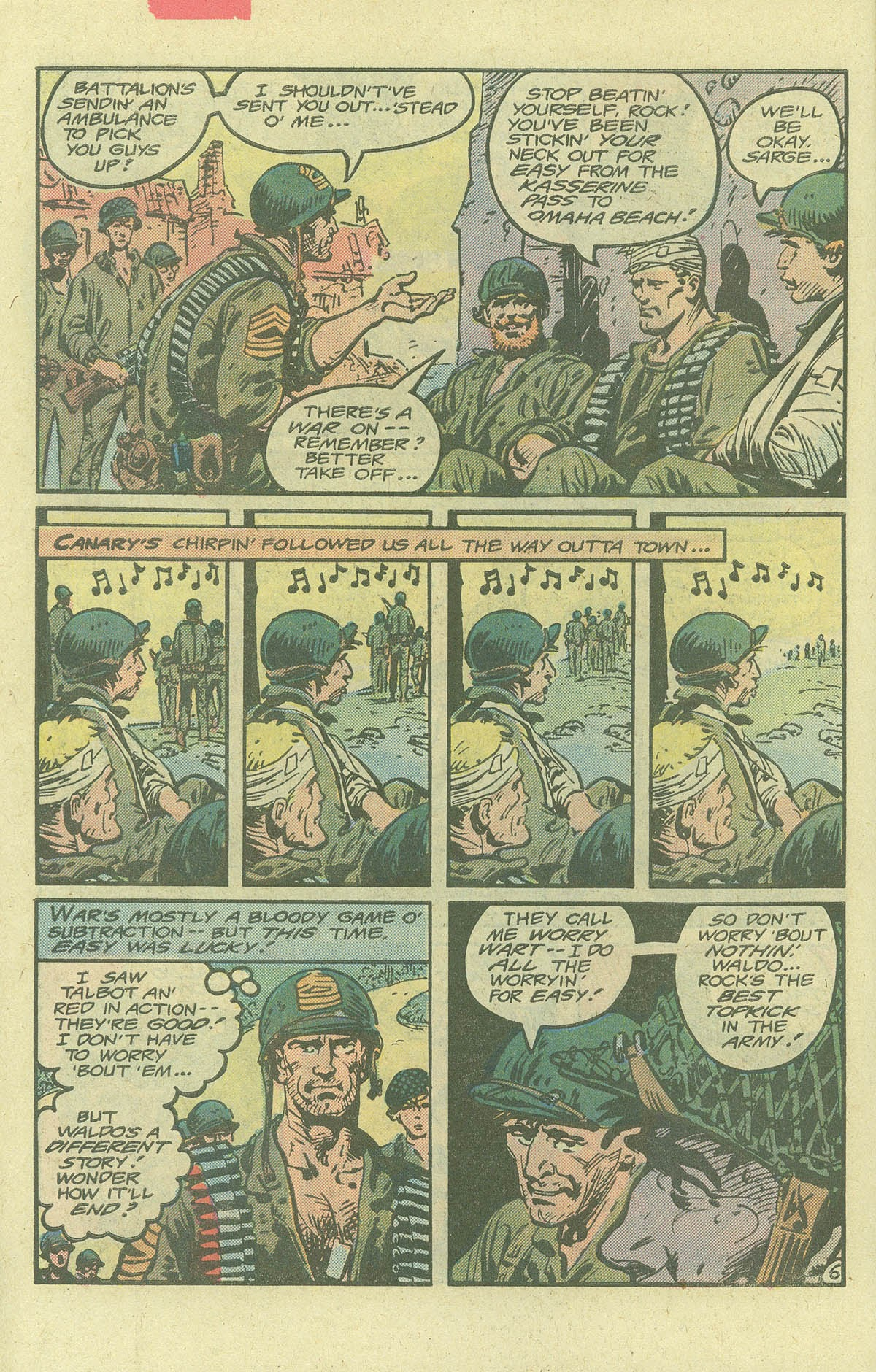 Read online Sgt. Rock comic -  Issue #380 - 9