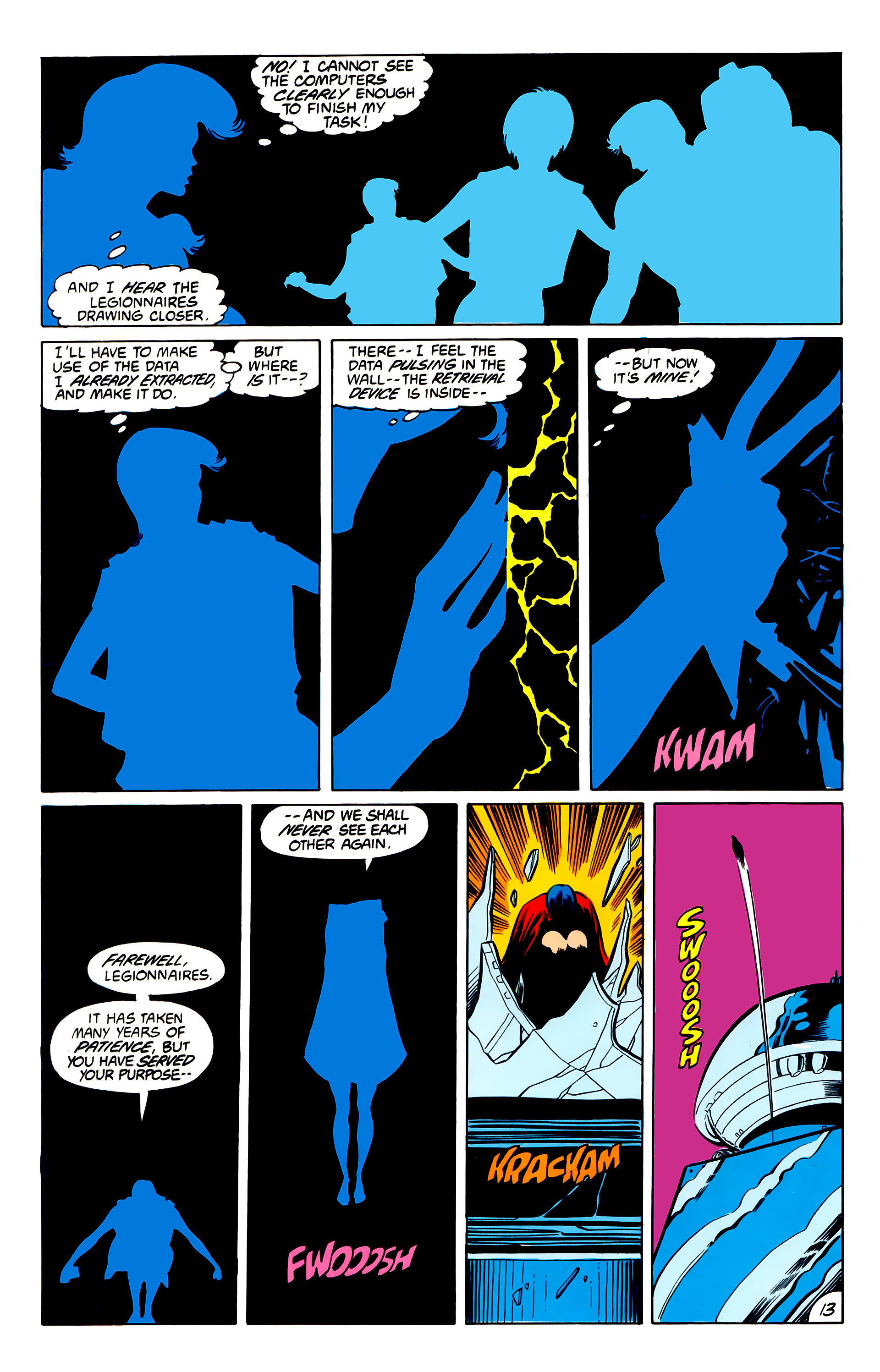Legion of Super-Heroes (1984) 42 Page 13