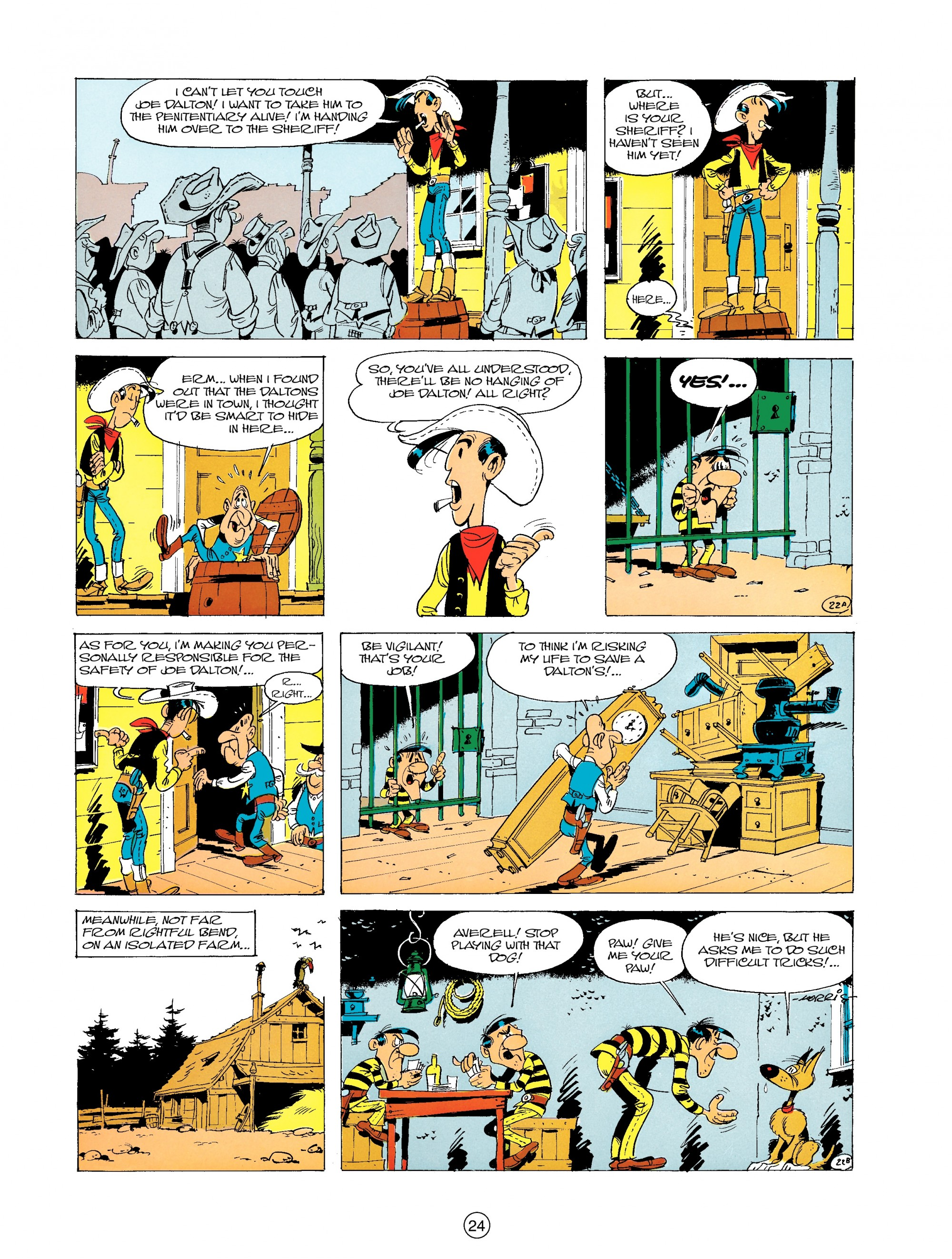 Read online A Lucky Luke Adventure comic -  Issue #19 - 24