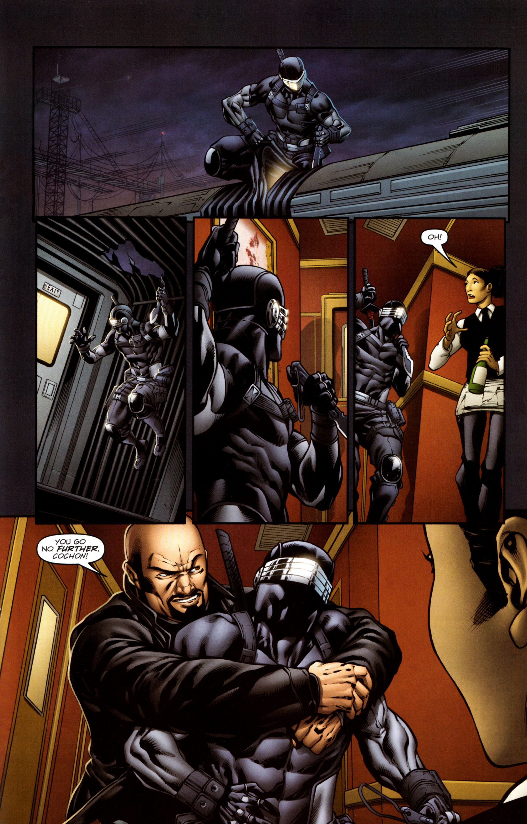 Read online Snake Eyes and Storm Shadow comic -  Issue #13 - 18