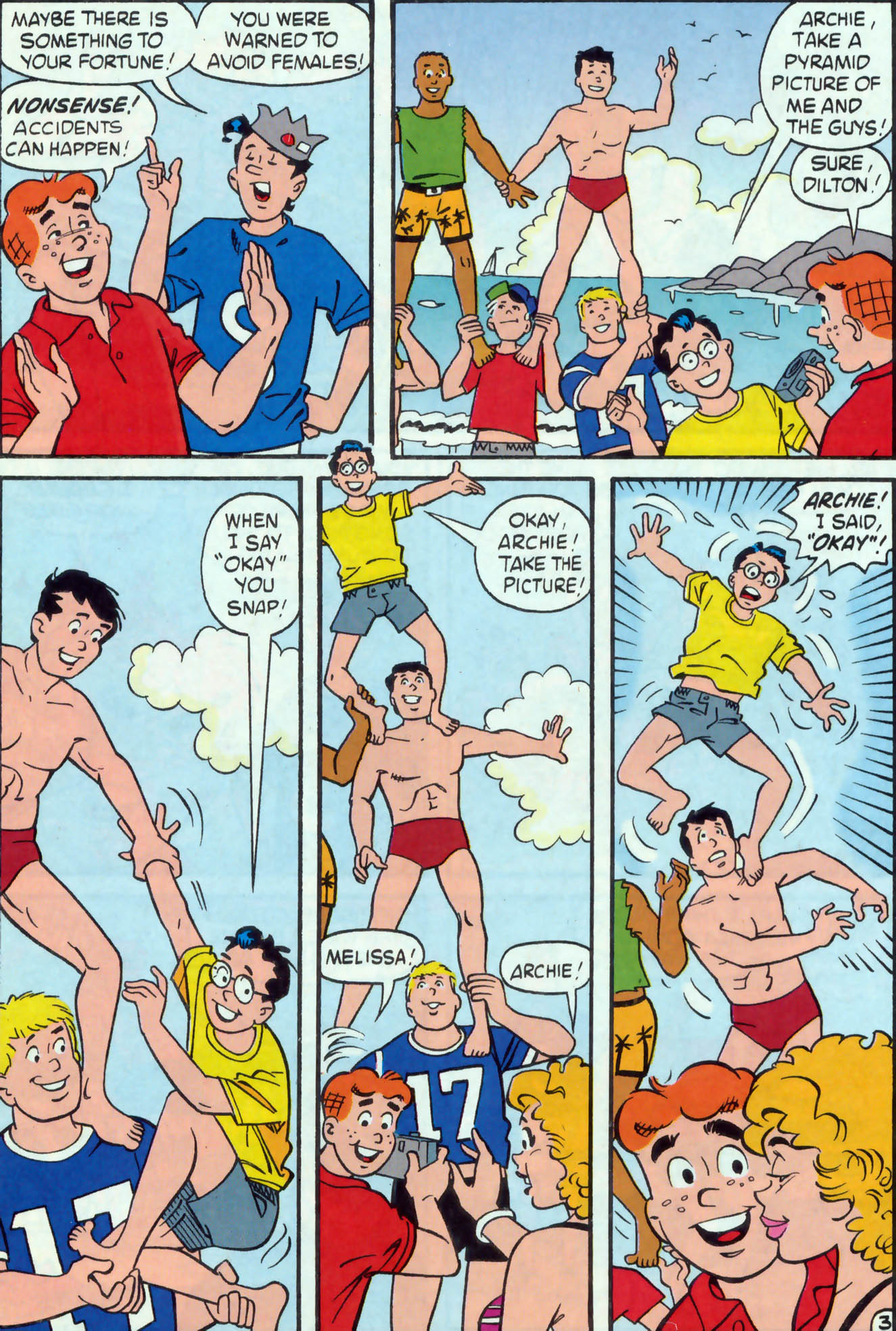 Read online Archie (1960) comic -  Issue #475 - 4
