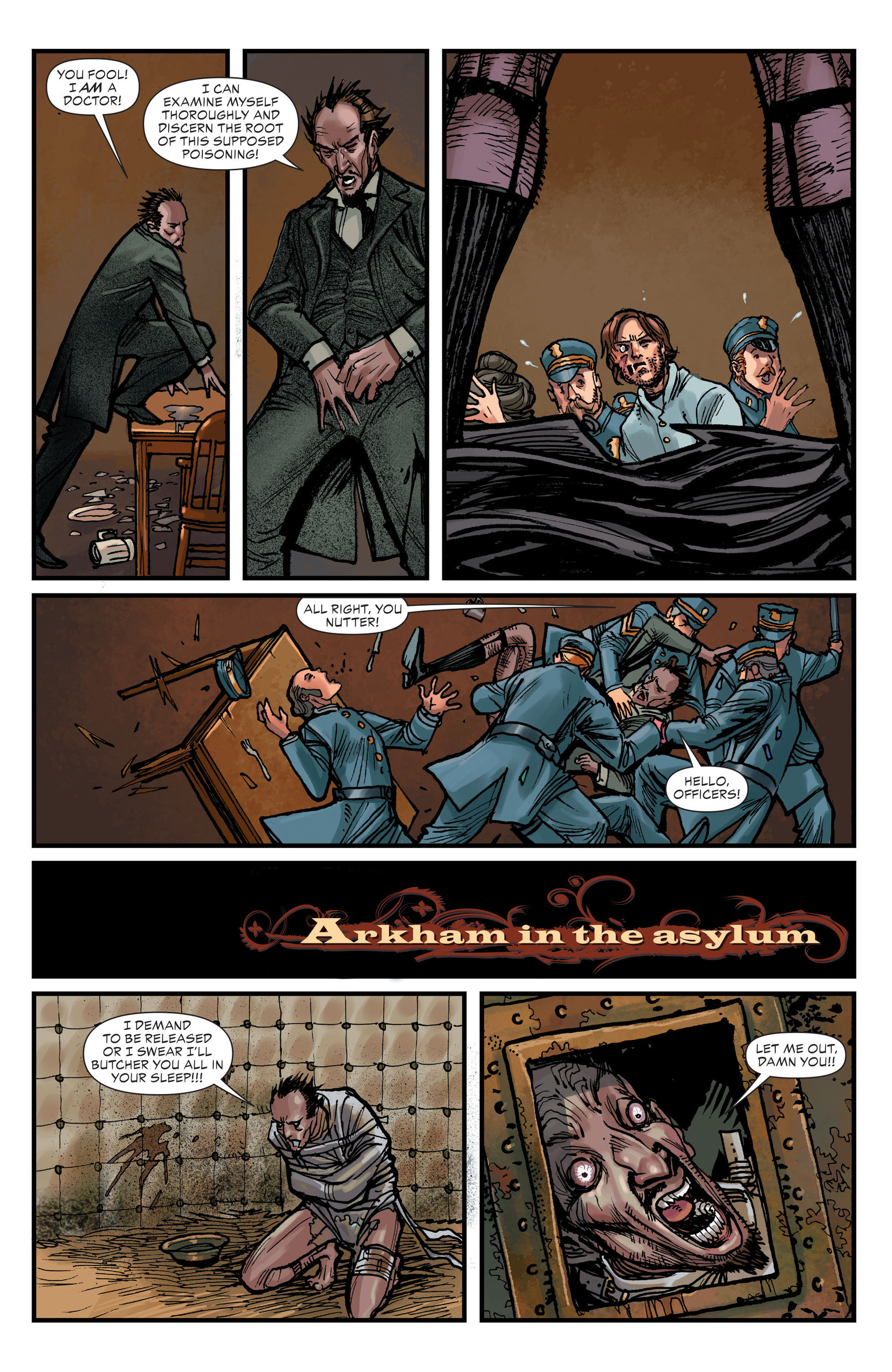 Read online All-Star Western (2011) comic -  Issue #15 - 18