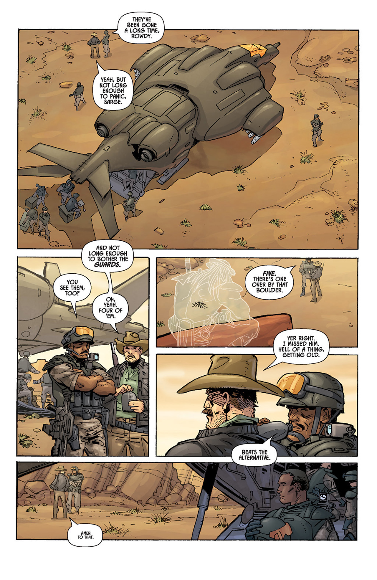 Read online Aliens vs. Predator: Three World War comic -  Issue #3 - 8
