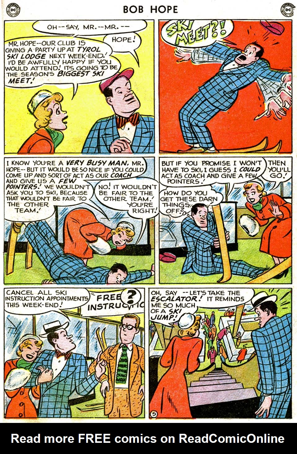 The Adventures of Bob Hope issue 1 - Page 21