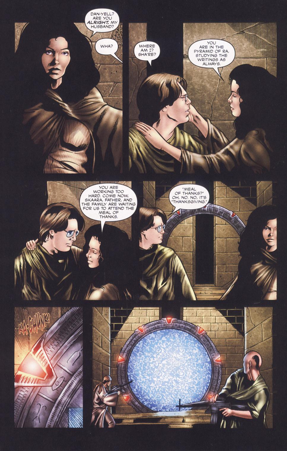 Read online Stargate SG-1: Daniel's Song comic -  Issue # Full - 5
