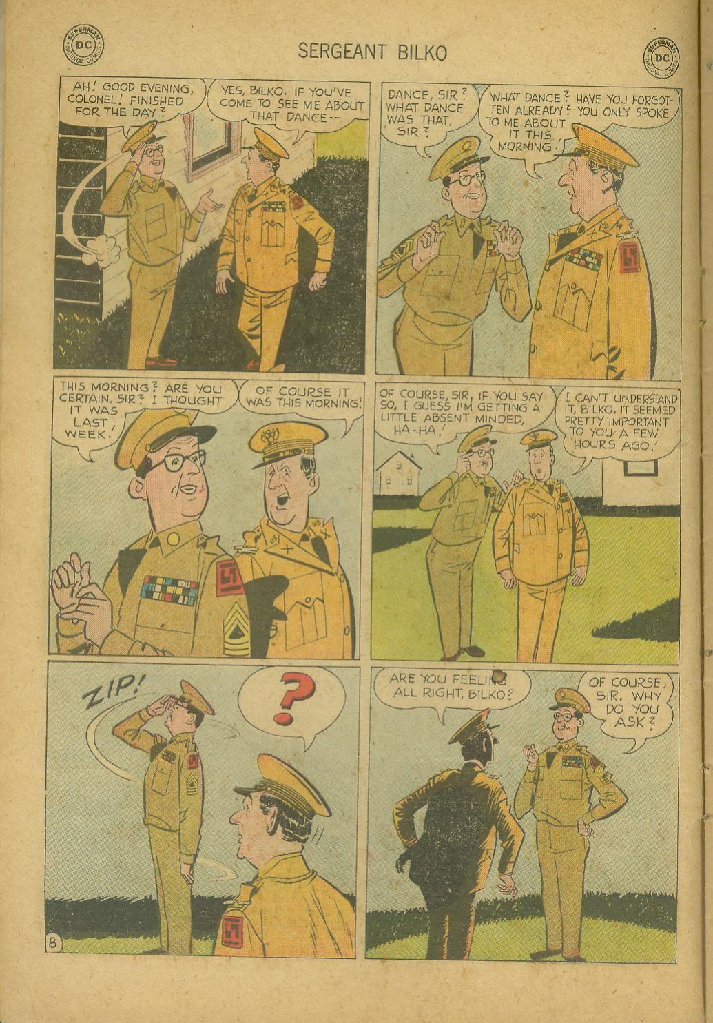 Sergeant Bilko issue 8 - Page 10