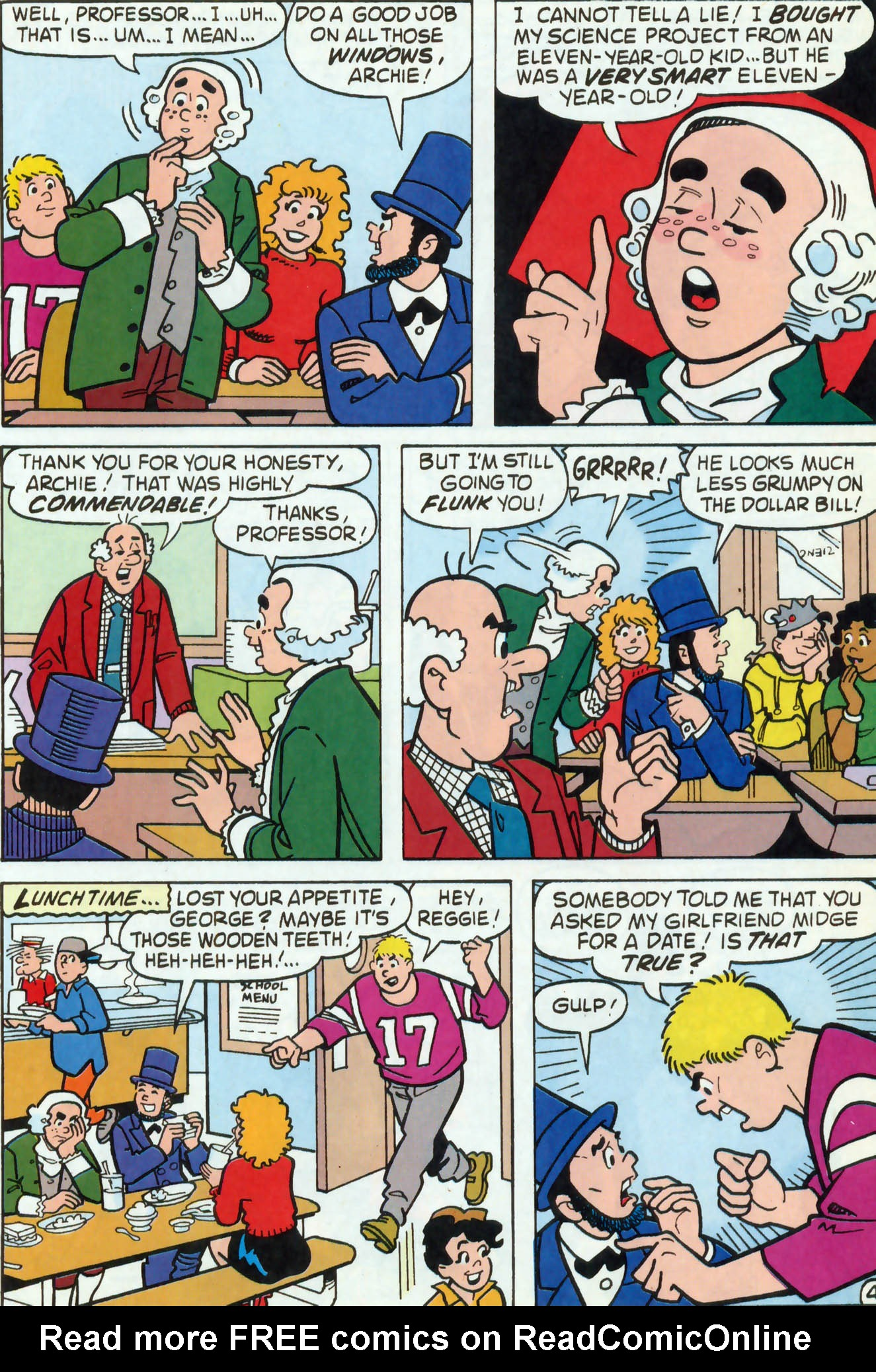 Read online Archie (1960) comic -  Issue #458 - 18