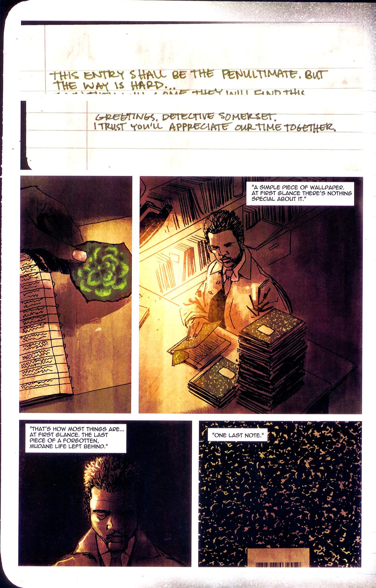 Read online Se7en comic -  Issue #7 - 29
