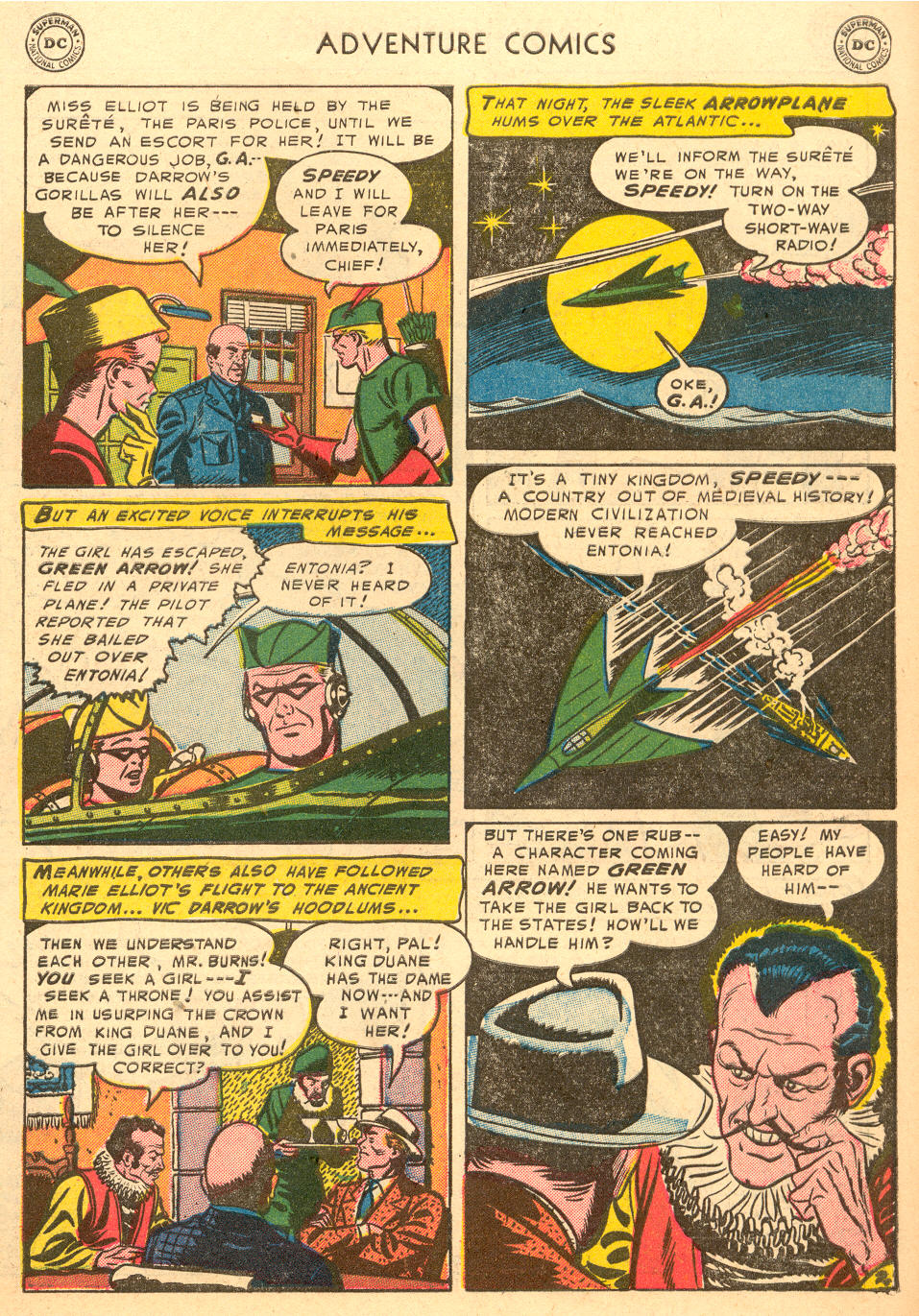 Read online Adventure Comics (1938) comic -  Issue #198 - 35