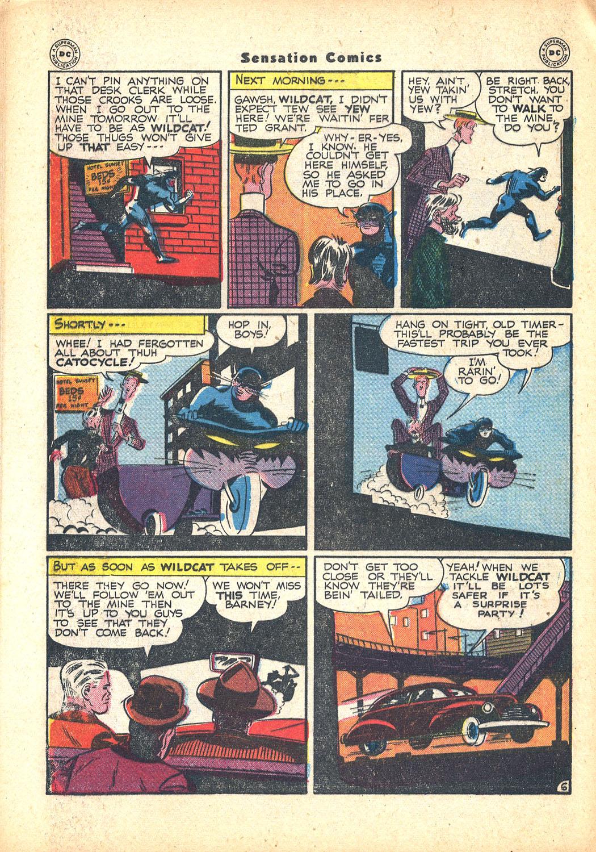 Read online Sensation (Mystery) Comics comic -  Issue #63 - 46