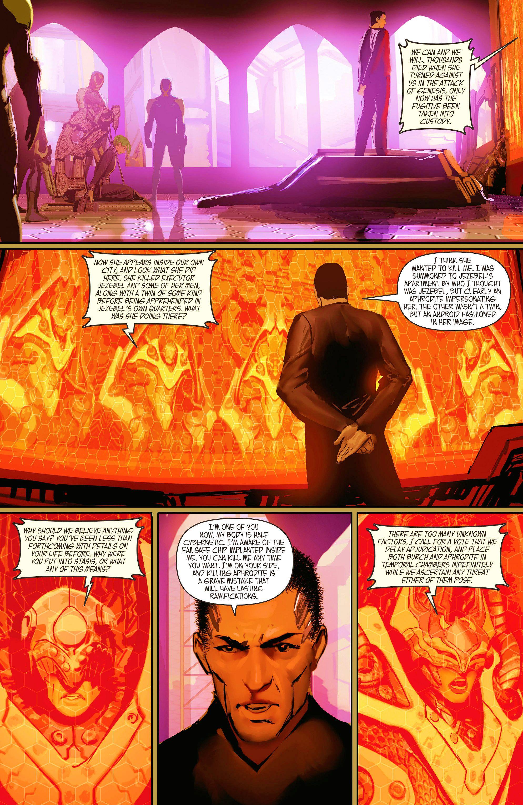 Read online Aphrodite IX (2013) comic -  Issue #10 - 13