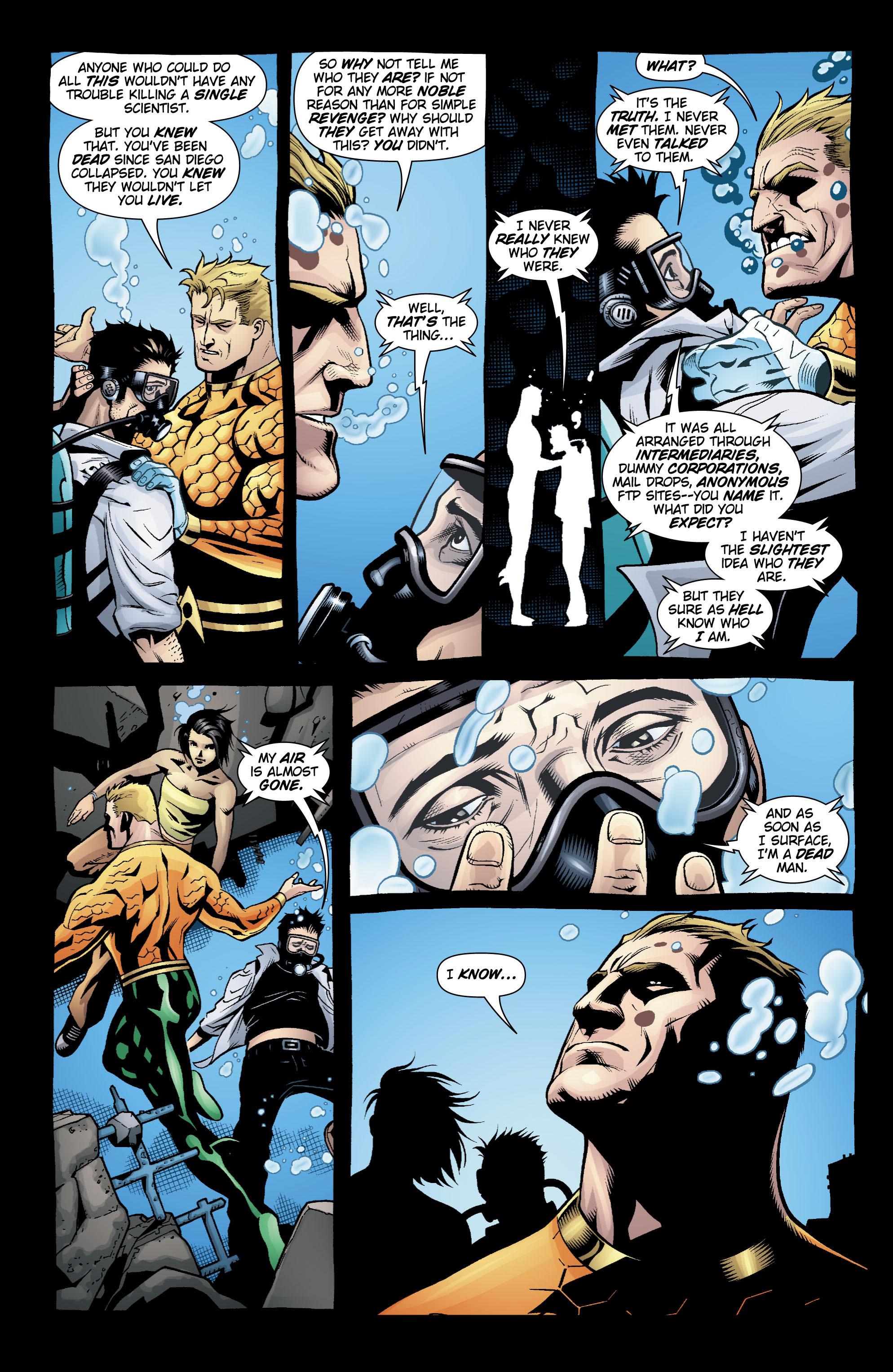 Read online Aquaman (2003) comic -  Issue #20 - 12