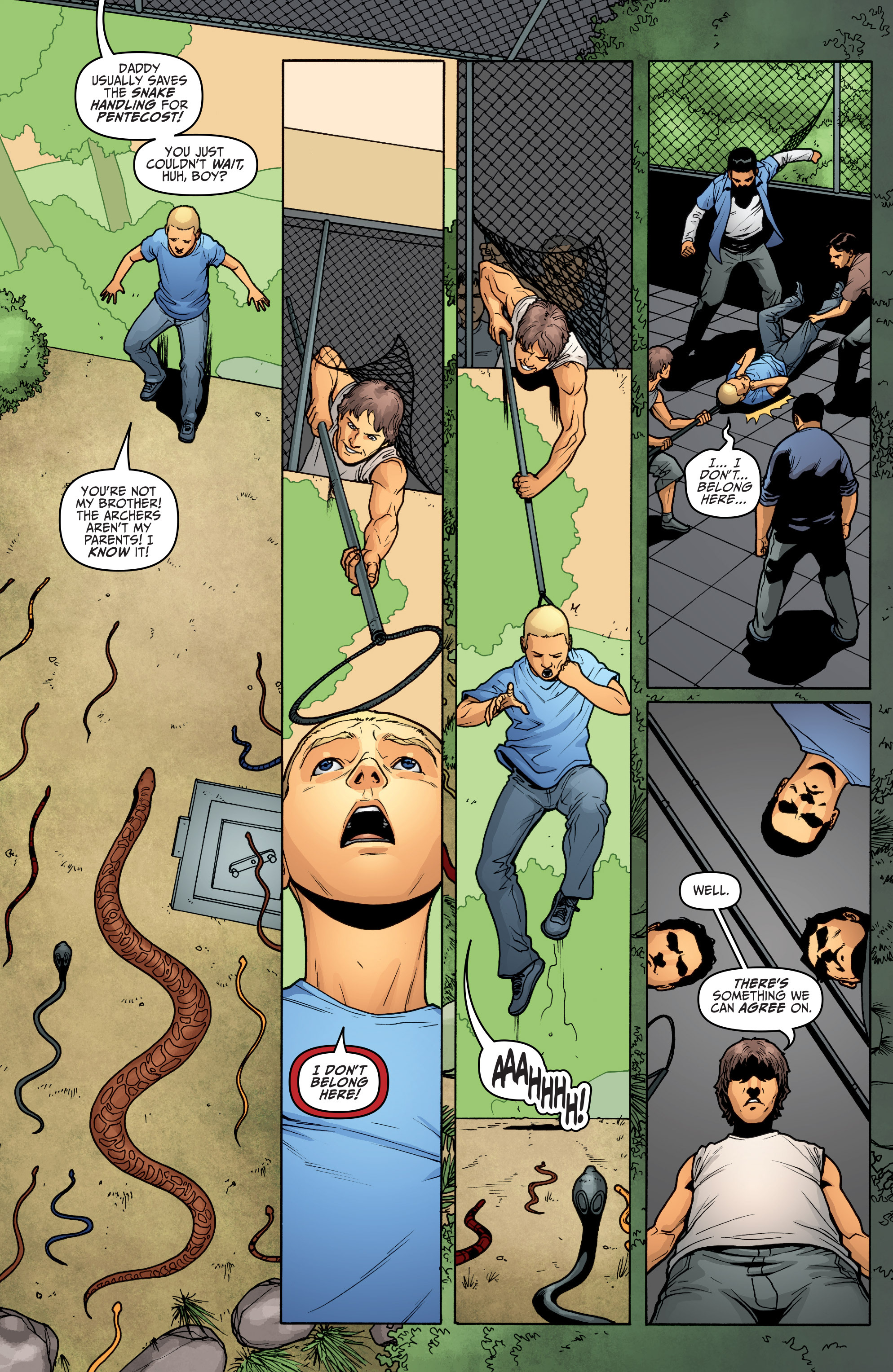 Read online Archer and Armstrong comic -  Issue #Archer and Armstrong _TPB 5 - 23