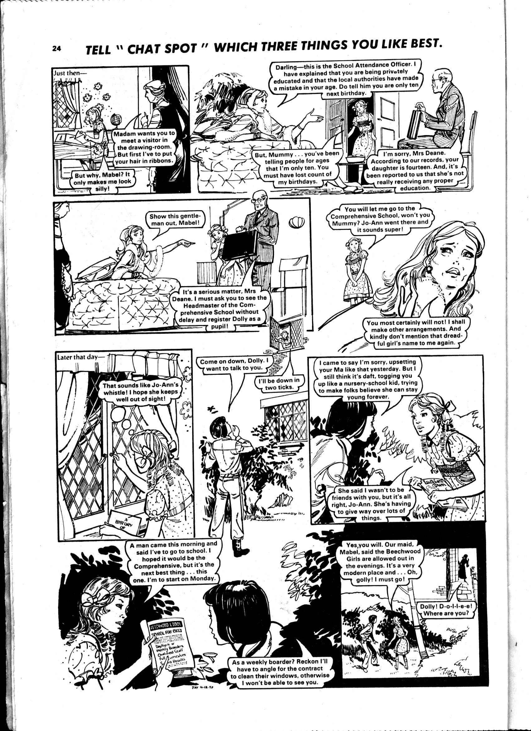 Read online Judy comic -  Issue #988 - 24