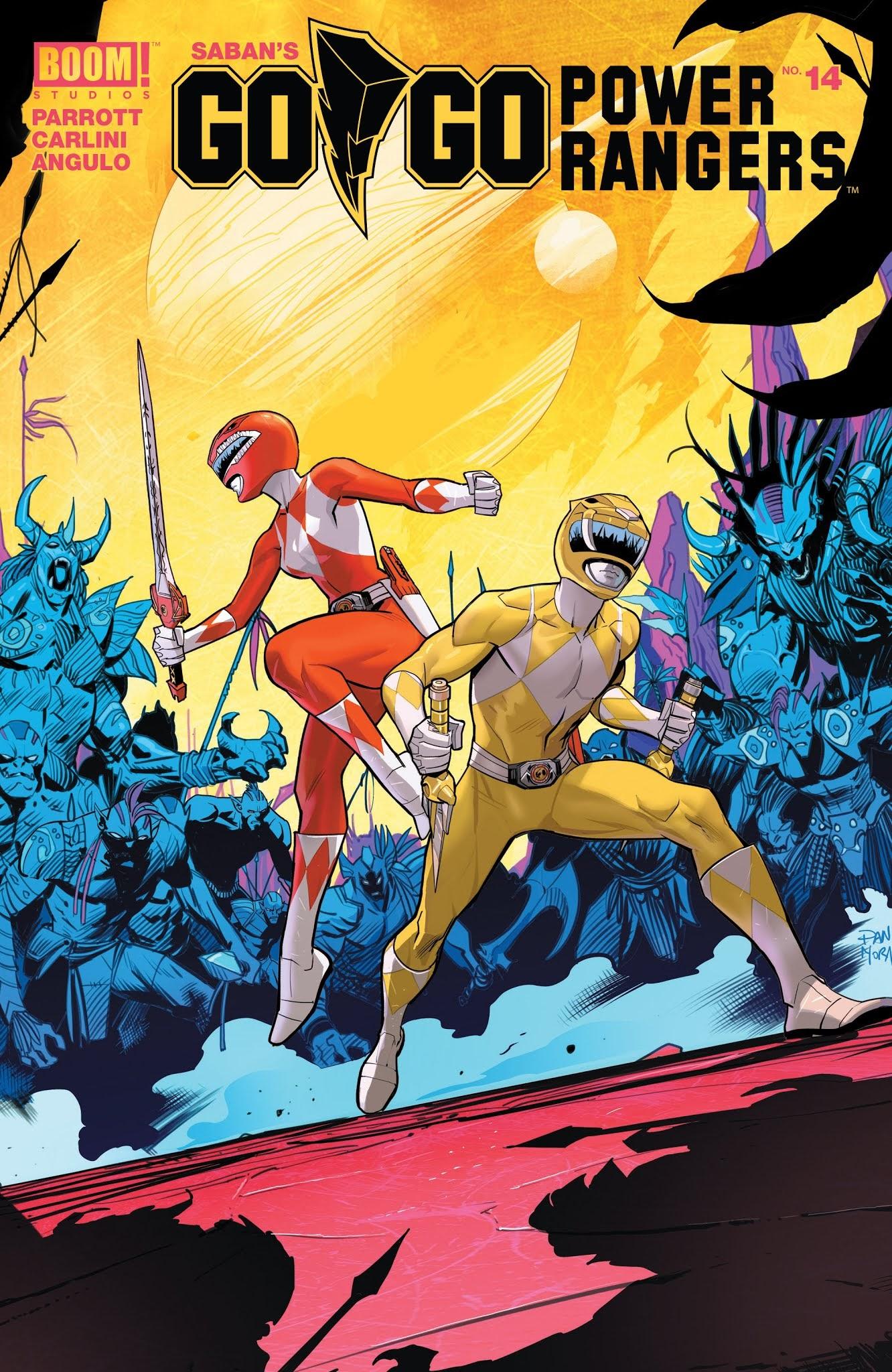 Sabans Go Go Power Rangers 14 Page 1