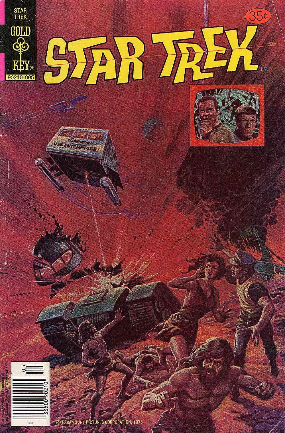 Star Trek (1967) issue 52 - Page 1