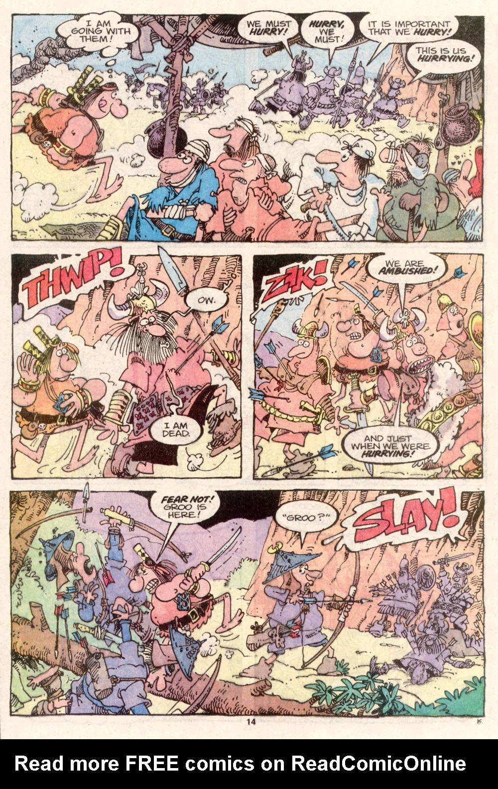 Read online Sergio Aragonés Groo the Wanderer comic -  Issue #80 - 10