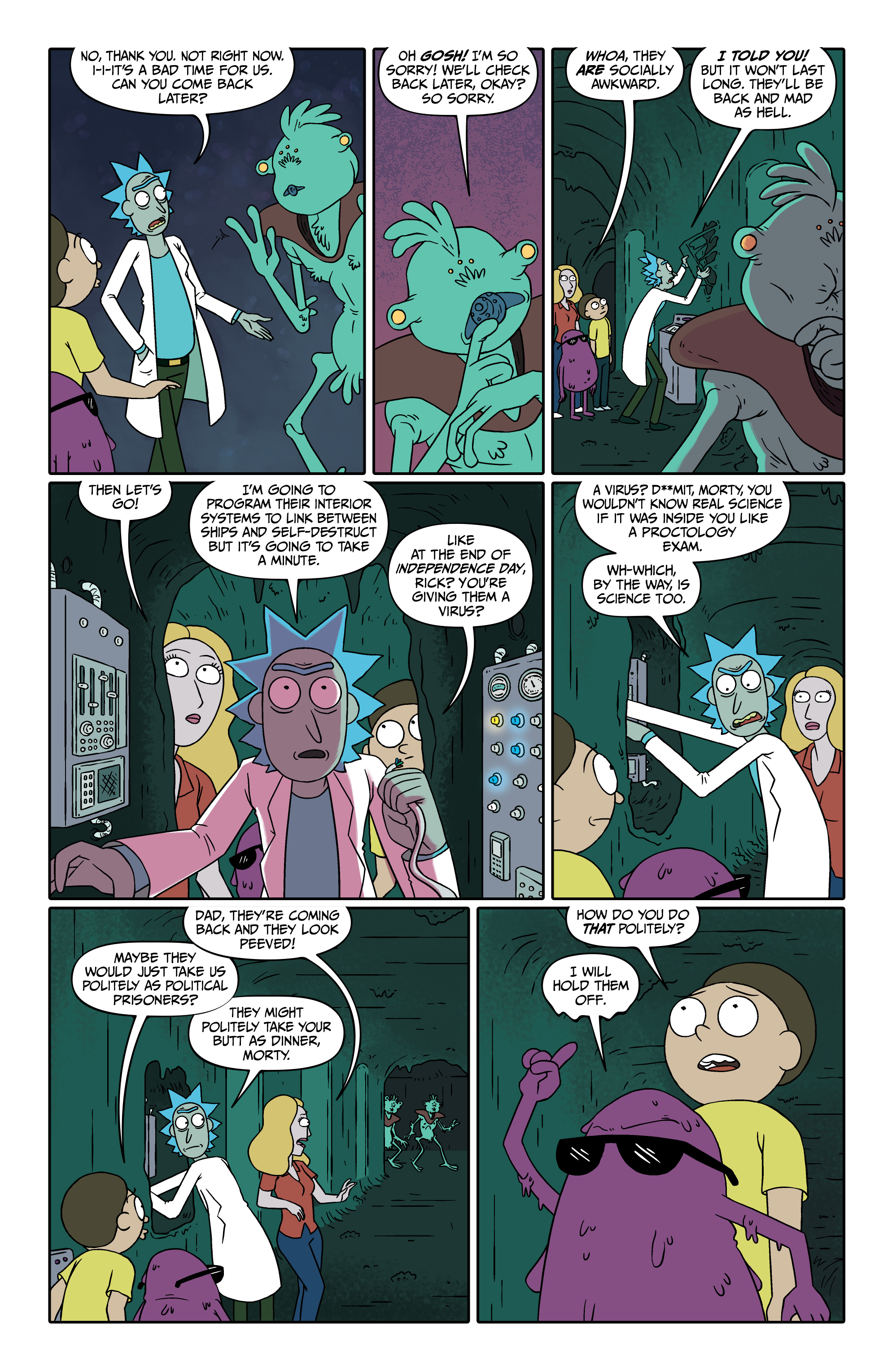 Read online Rick and Morty comic -  Issue #26 - 16