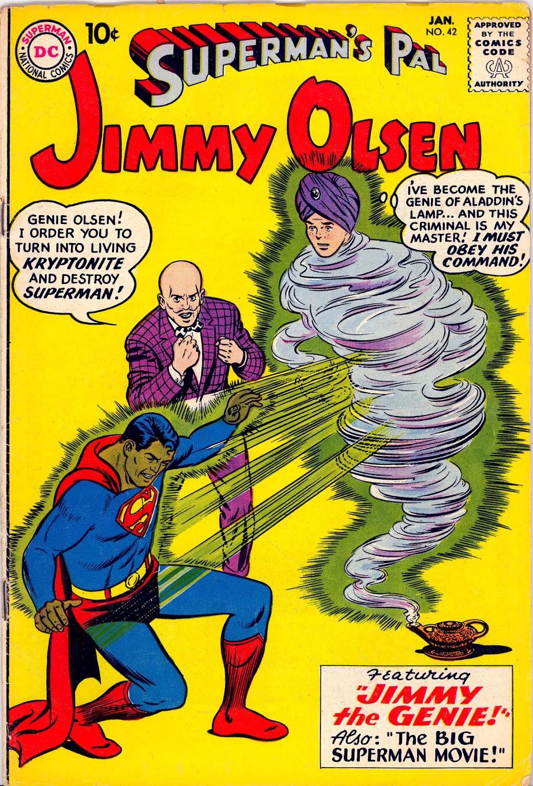 Supermans Pal Jimmy Olsen (1954) 42 Page 1