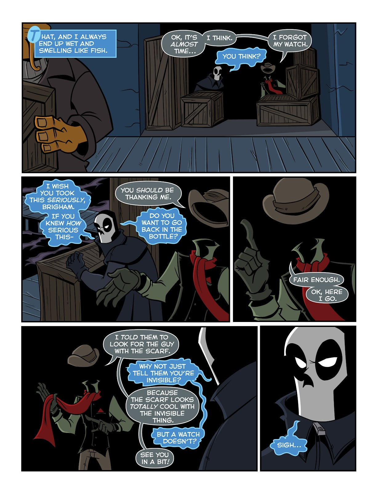Read online The Haunter comic -  Issue #2 - 4