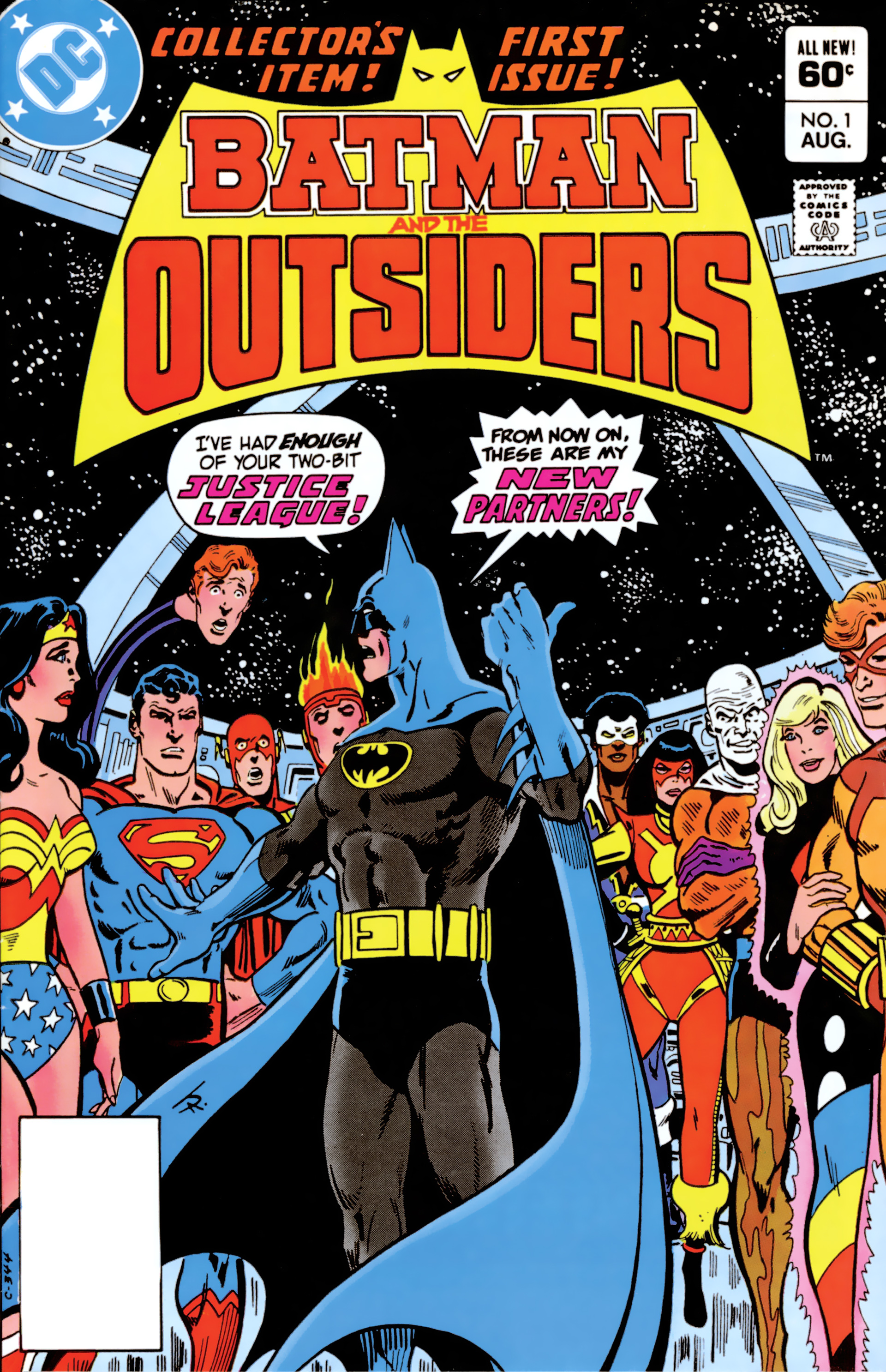 Batman and the Outsiders (1983) 1 Page 1