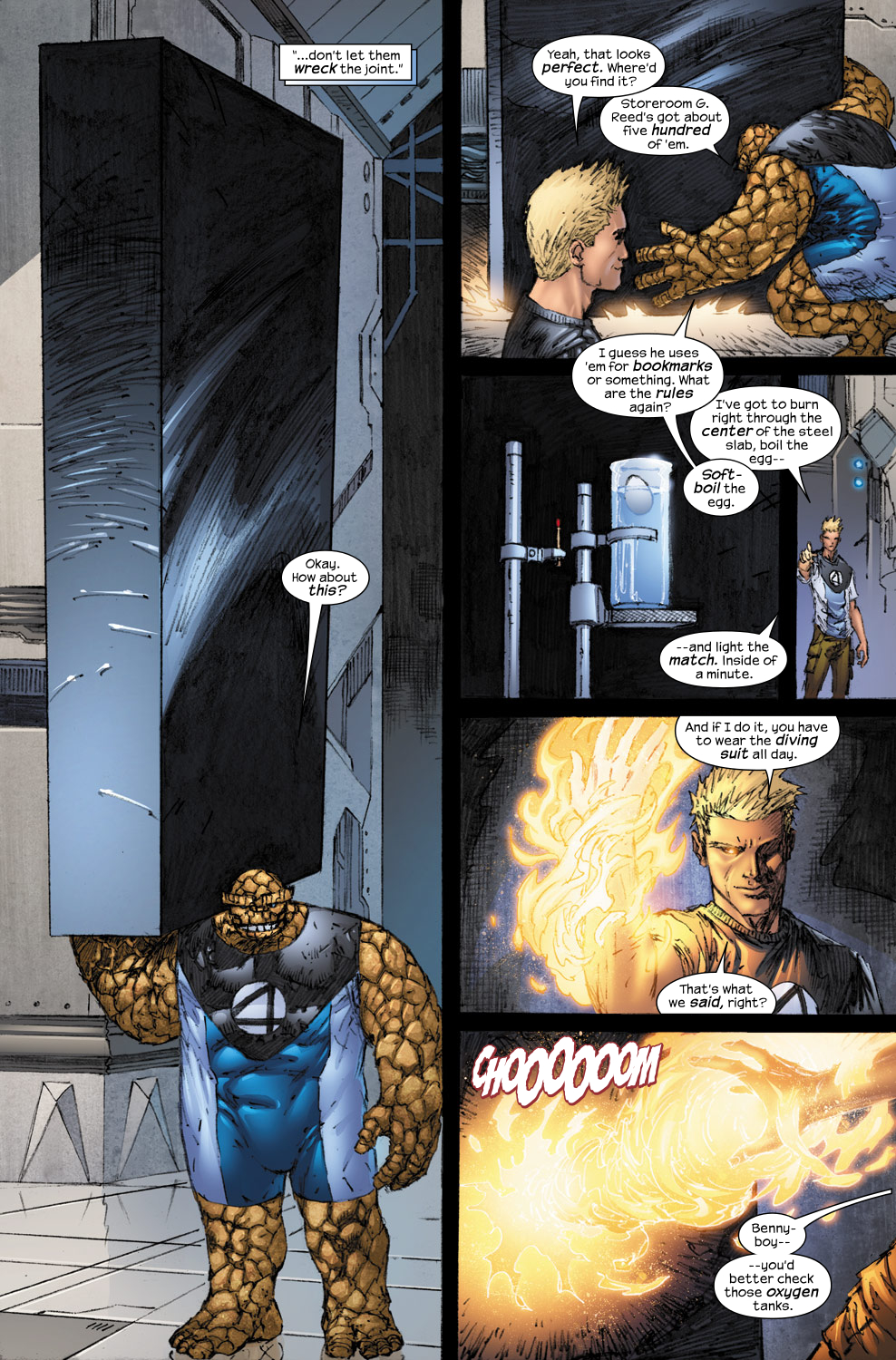 Read online Ultimate Fantastic Four (2004) comic -  Issue #54 - 8