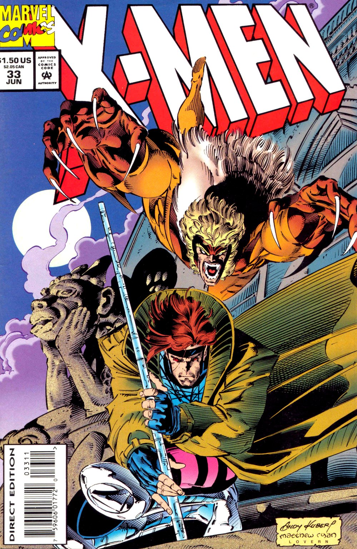 X-Men (1991) 33 Page 1