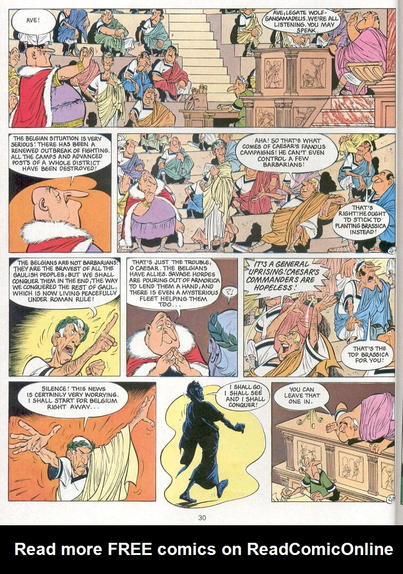 Read online Asterix comic -  Issue #24 - 27