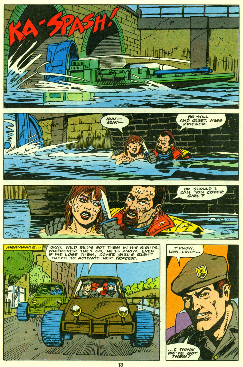 G.I. Joe European Missions issue 9 - Page 14