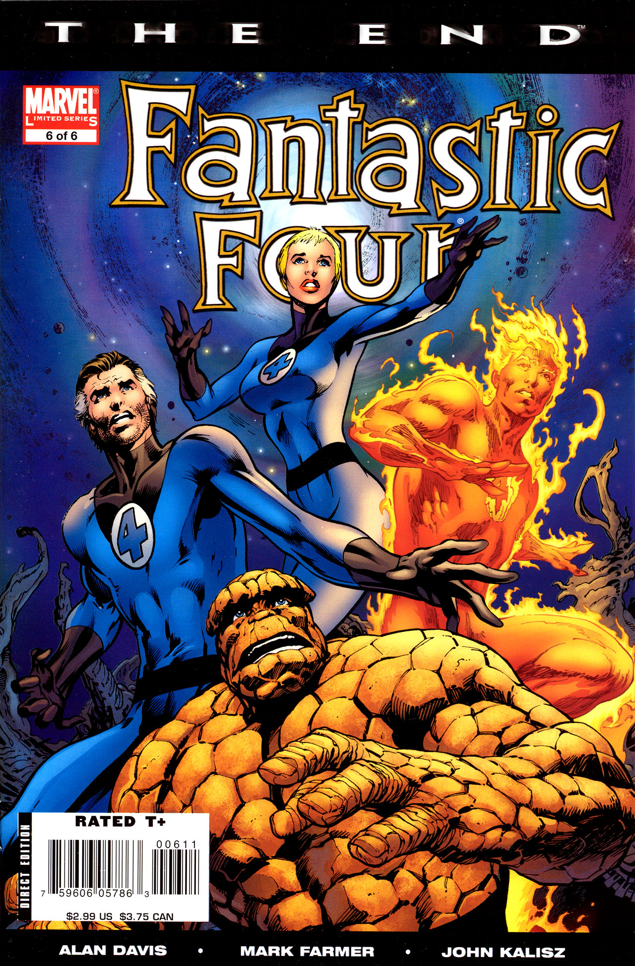 Fantastic Four: The End 6 Page 1