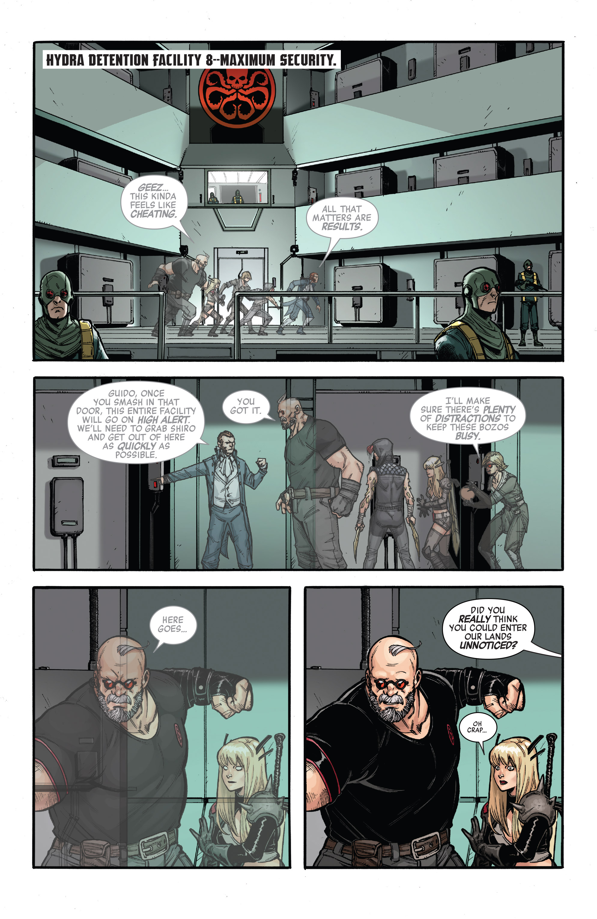 Read online Secret Empire: United comic -  Issue # Full - 17