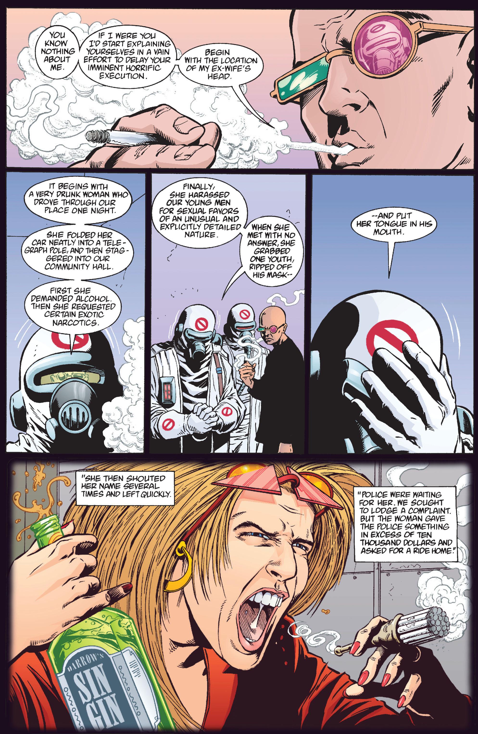 Read online Transmetropolitan comic -  Issue #12 - 14