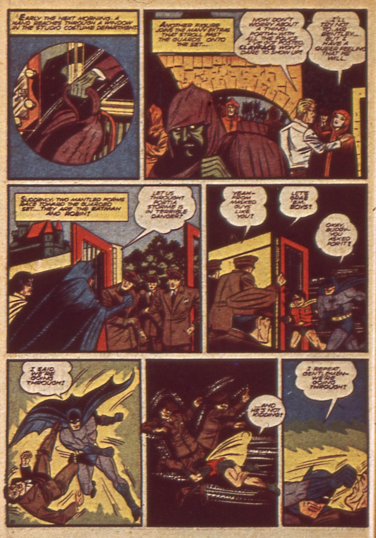 Read online Detective Comics (1937) comic -  Issue #49 - 12