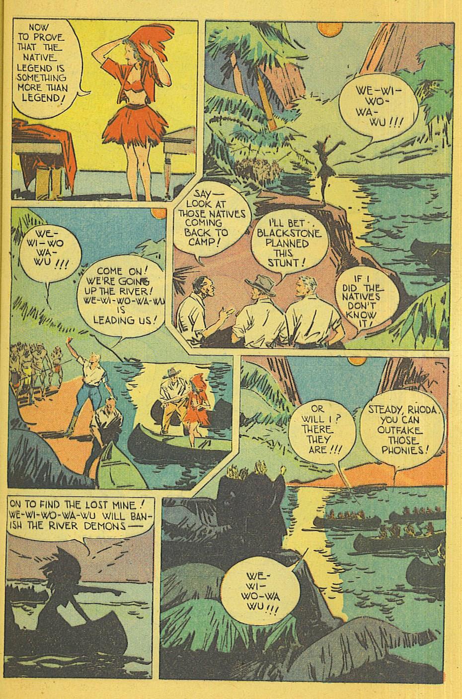 Read online Super-Magician Comics comic -  Issue #39 - 12