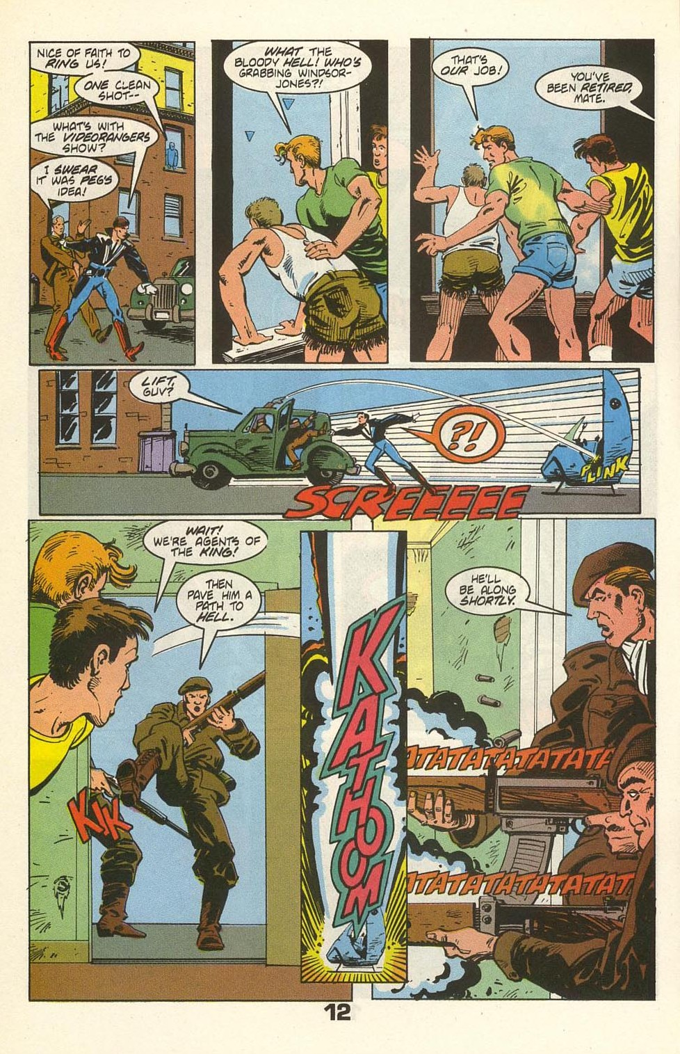 Read online American Flagg! comic -  Issue #35 - 16