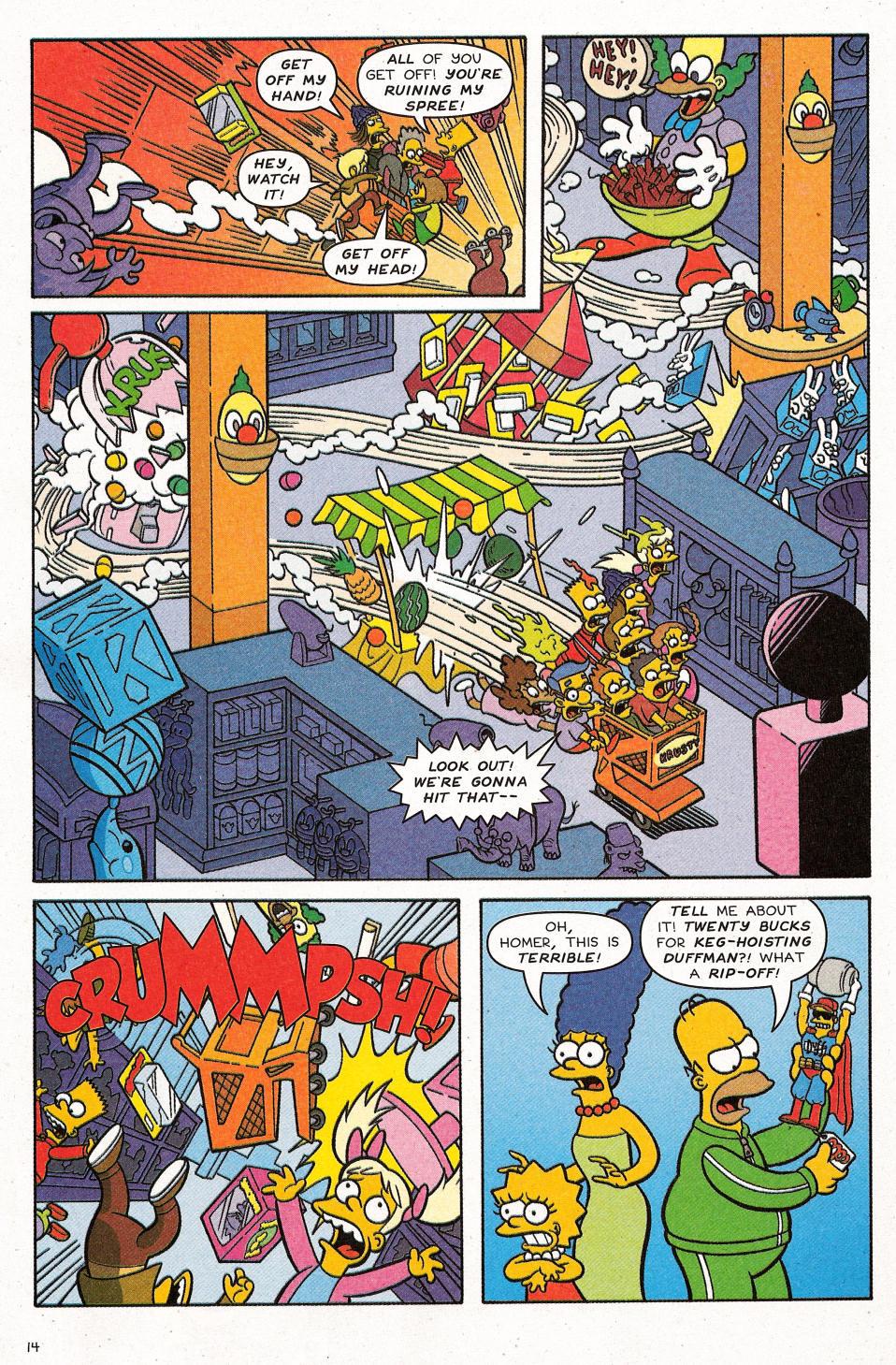 Read online Simpsons Comics Presents Bart Simpson comic -  Issue #31 - 16