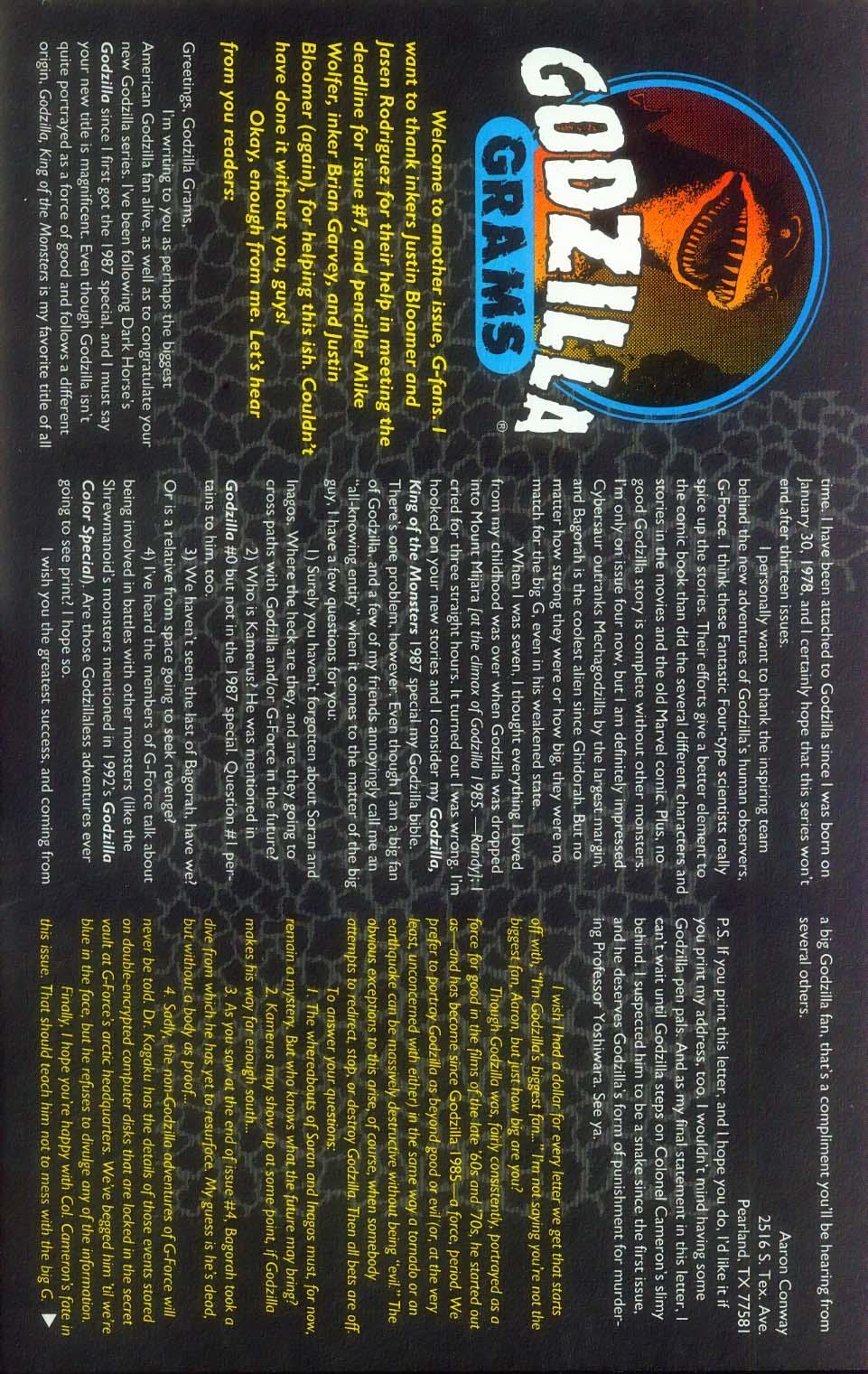 Godzilla (1995) Issue #8 #9 - English 27