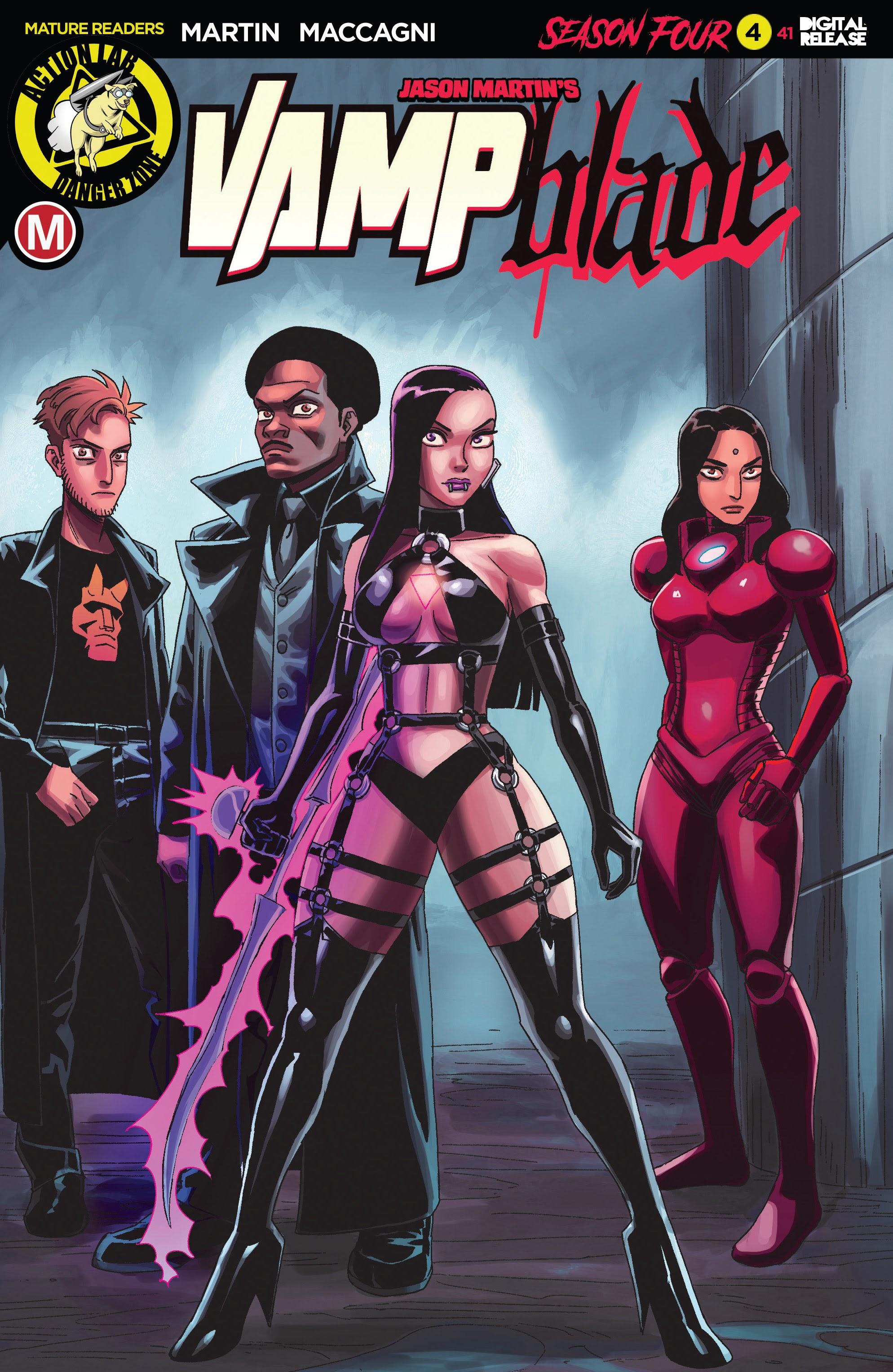 Vampblade Season 4 4 Page 1